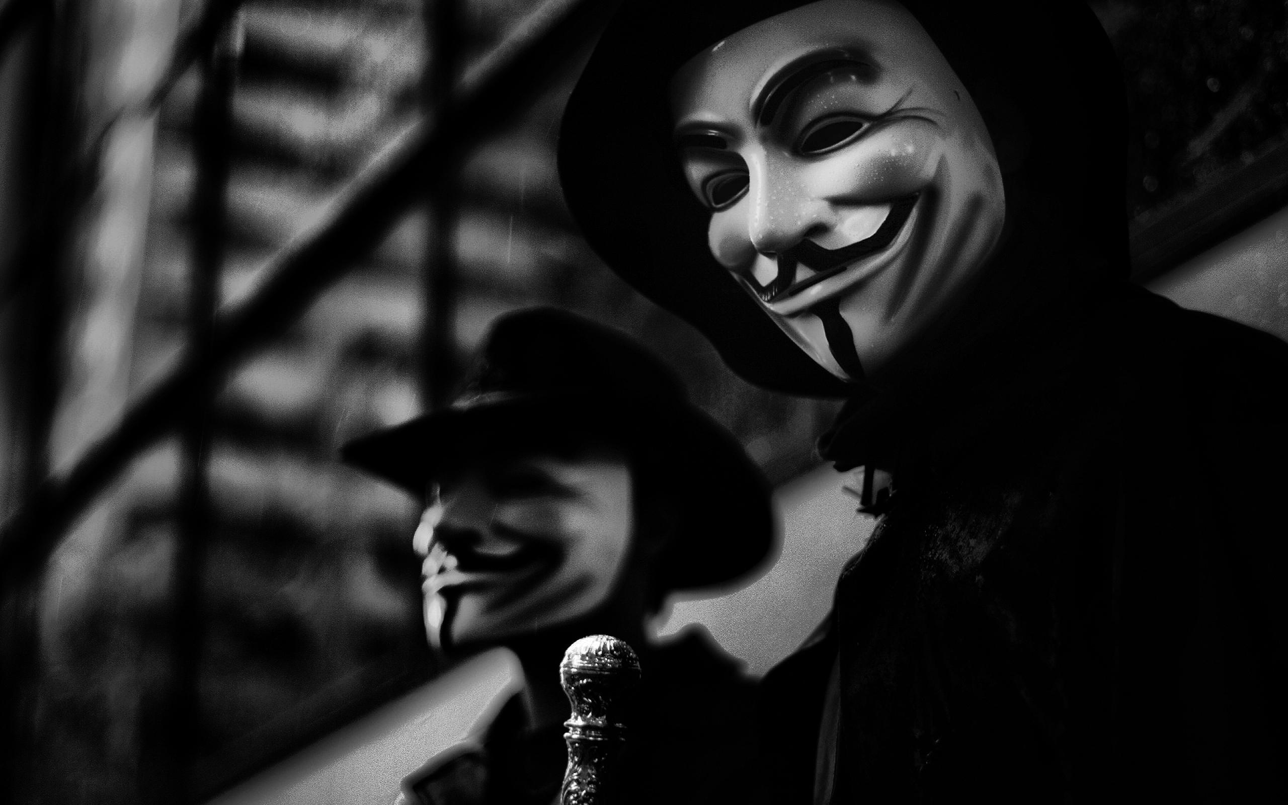22070 baixar papel de parede Cinema, Máscaras, V De Vingança - protetores de tela e imagens gratuitamente