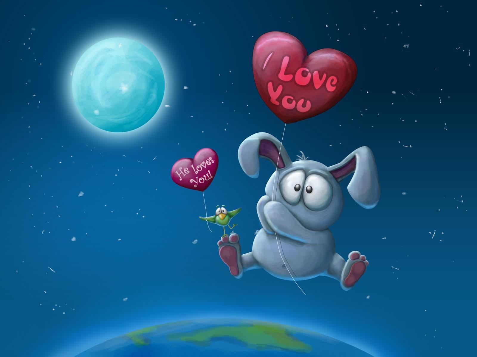 11592 скачать обои Сердца, Любовь, День Святого Валентина (Valentine's Day), Рисунки - заставки и картинки бесплатно