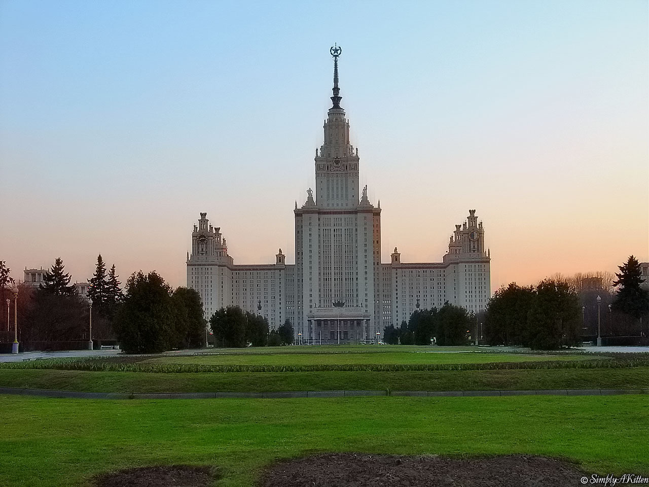 Handy-Wallpaper Landschaft, Städte, Architektur, Moskau kostenlos herunterladen.