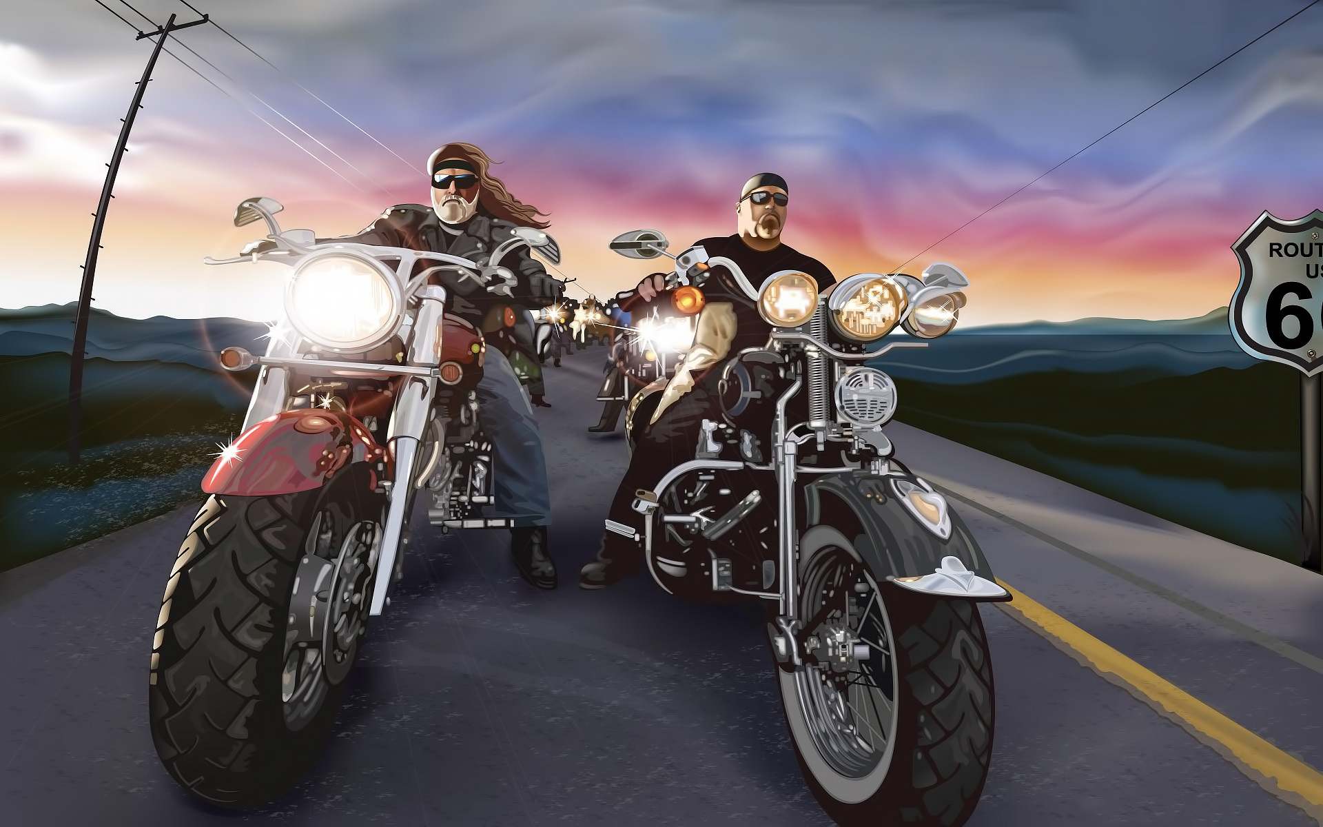 30577 download wallpaper People, Men, Motorcycles, Pictures screensavers and pictures for free