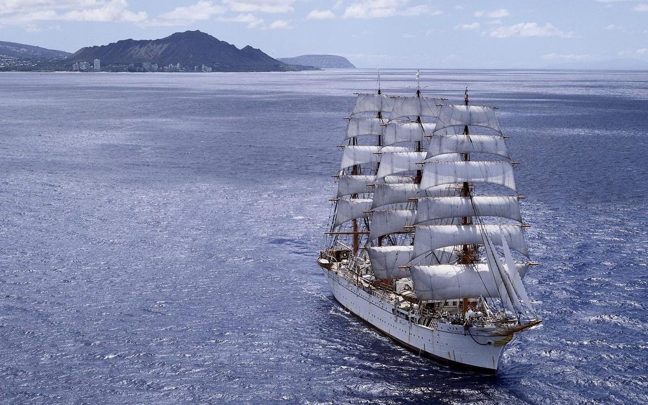 43961 Заставки и Обои Корабли на телефон. Скачать Транспорт, Пейзаж, Корабли картинки бесплатно