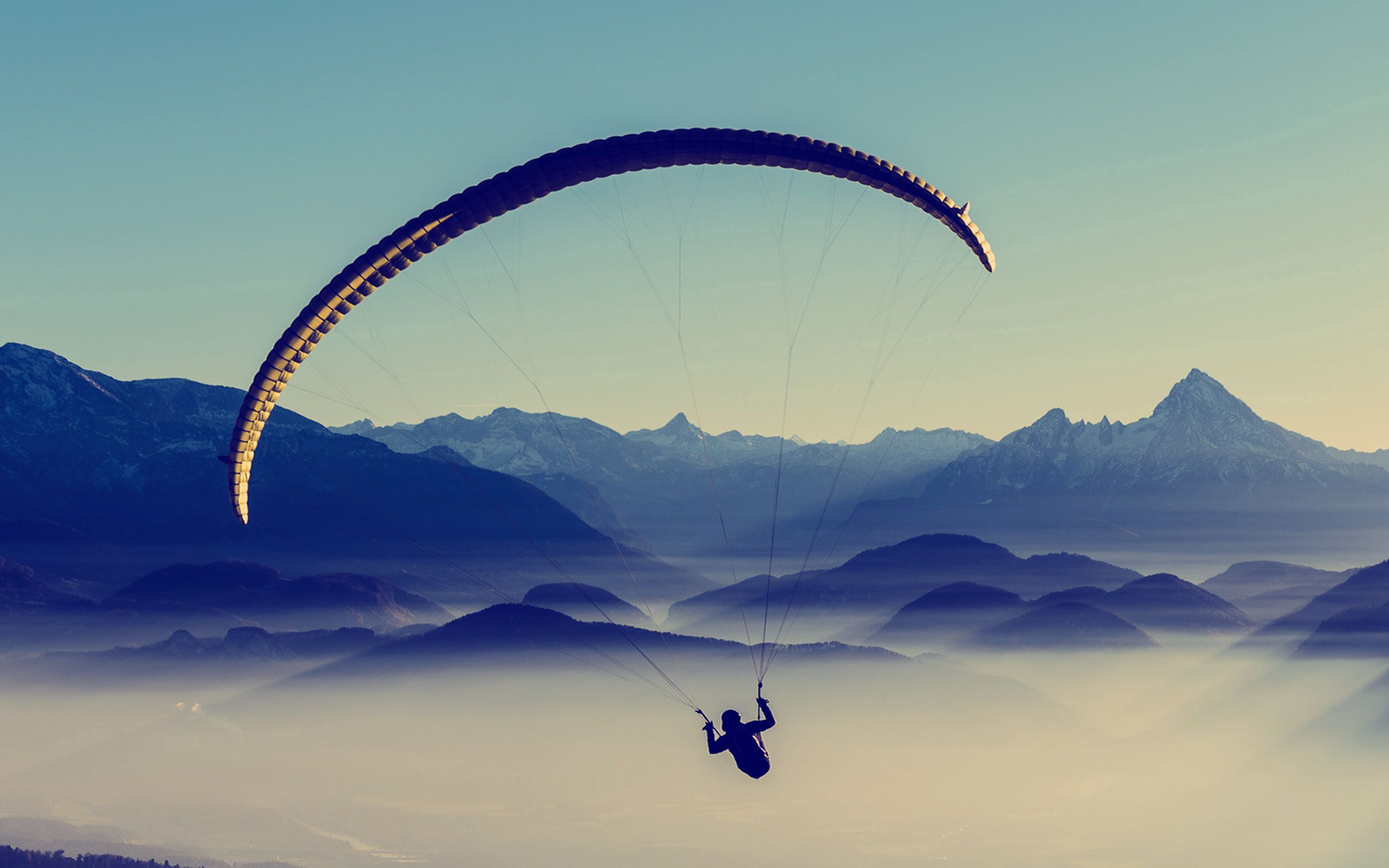 59330 download wallpaper Sports, Paragliding, Paraglider, Sky, Flight screensavers and pictures for free