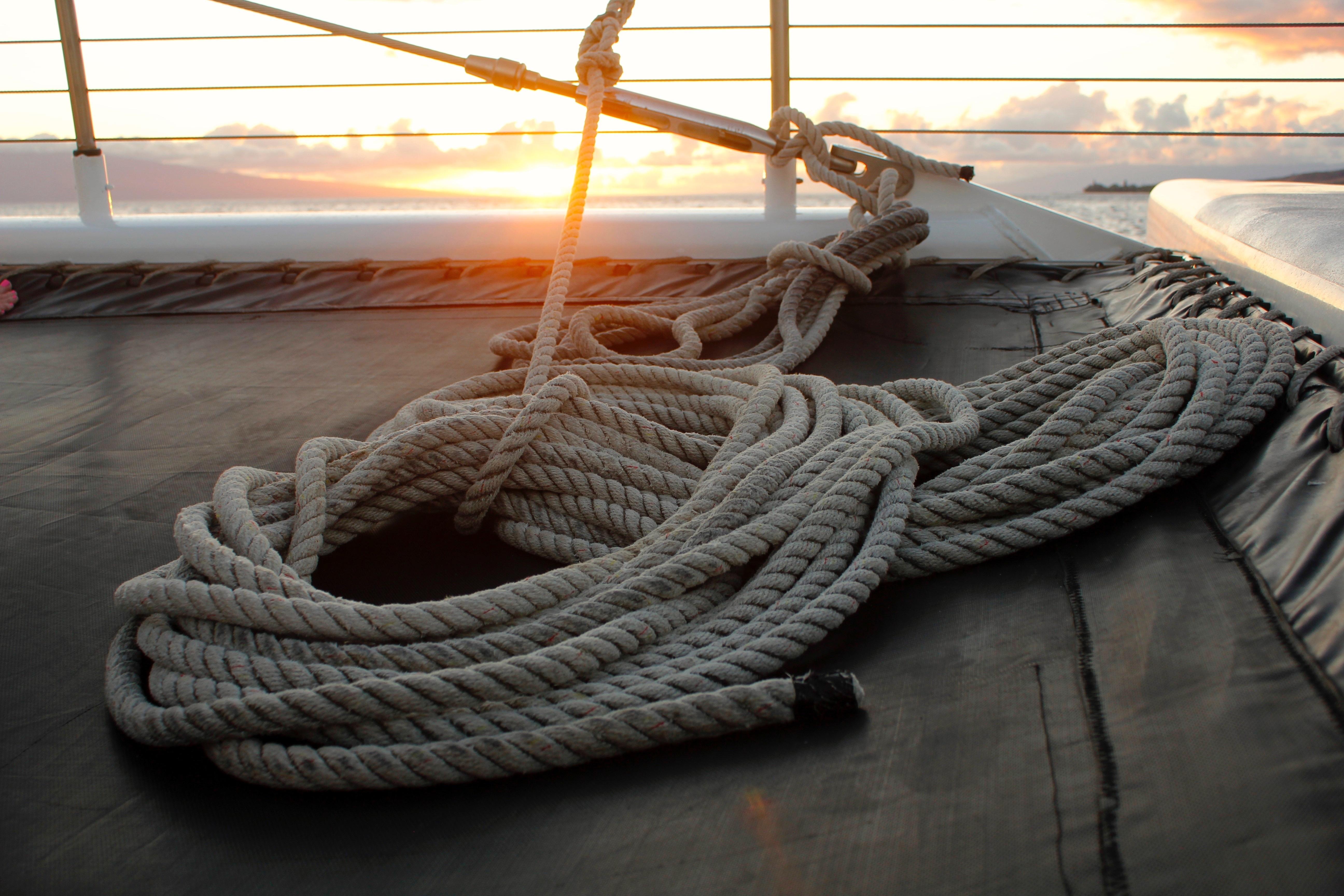 80600 Hintergrundbild herunterladen Sea, Verschiedenes, Sonstige, Kabel, Segelboot, Segel, Seil - Bildschirmschoner und Bilder kostenlos