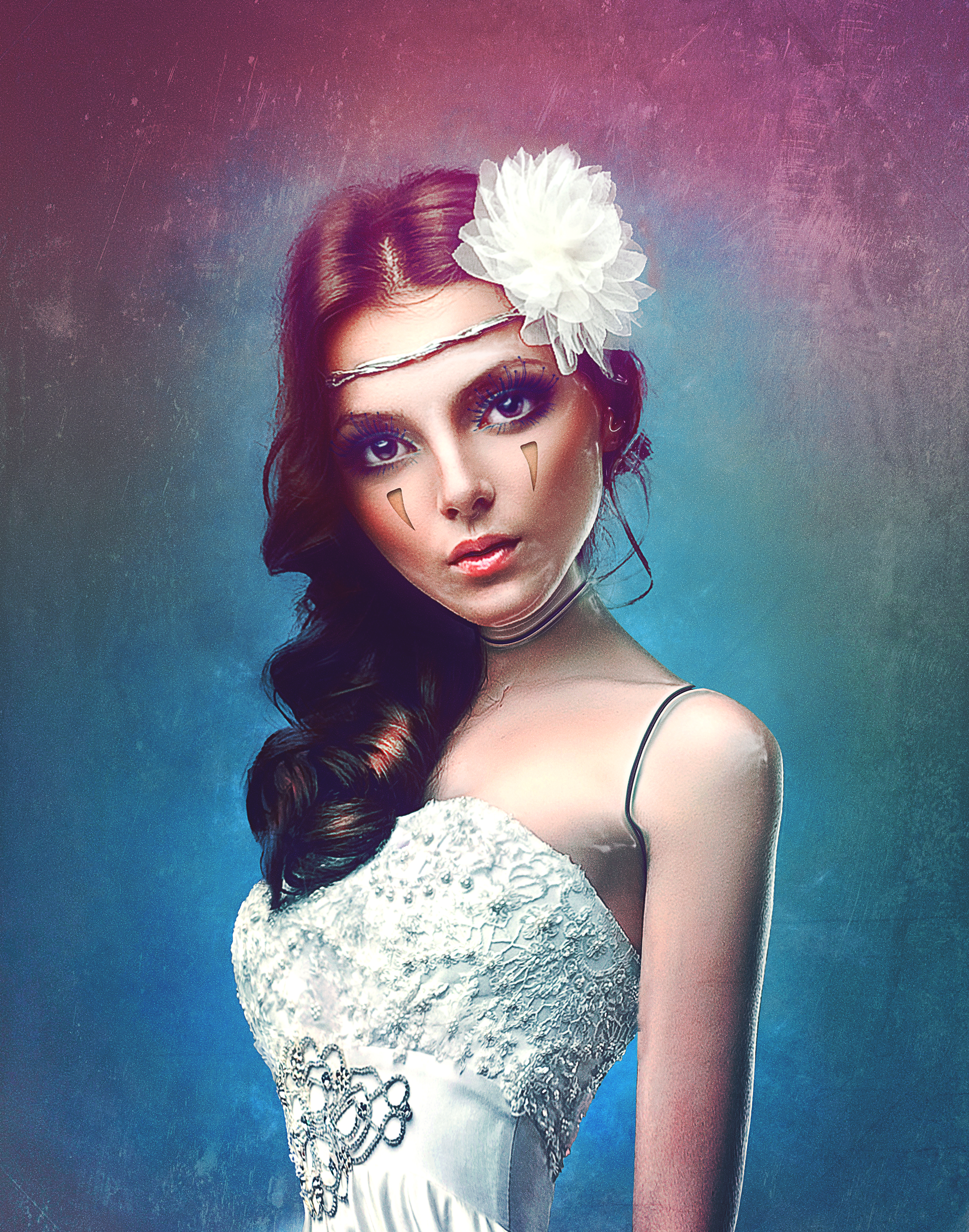 63647 Screensavers and Wallpapers Pretty for phone. Download Art, Sight, Opinion, Girl, Digital Art, Pretty, Dress pictures for free