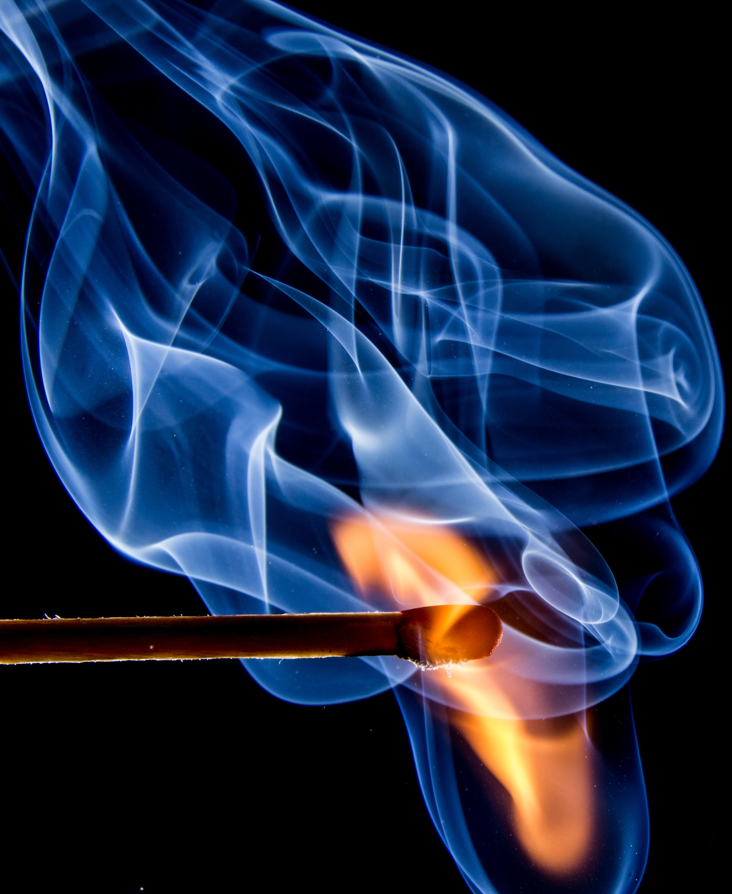 141638 Заставки и Обои Огонь на телефон. Скачать Дым, Огонь, Разное, Темный, Спичка картинки бесплатно