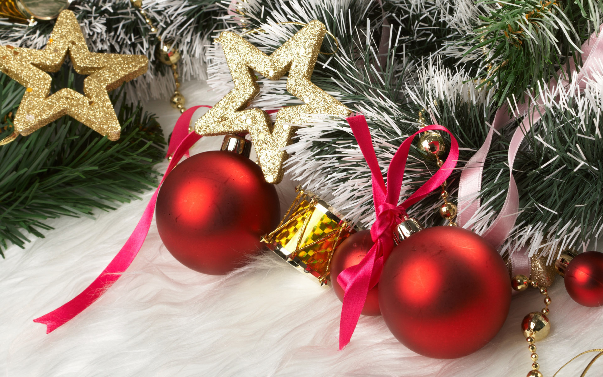 14064 скачать обои Праздники, Новый Год (New Year), Игрушки, Рождество (Christmas, Xmas) - заставки и картинки бесплатно