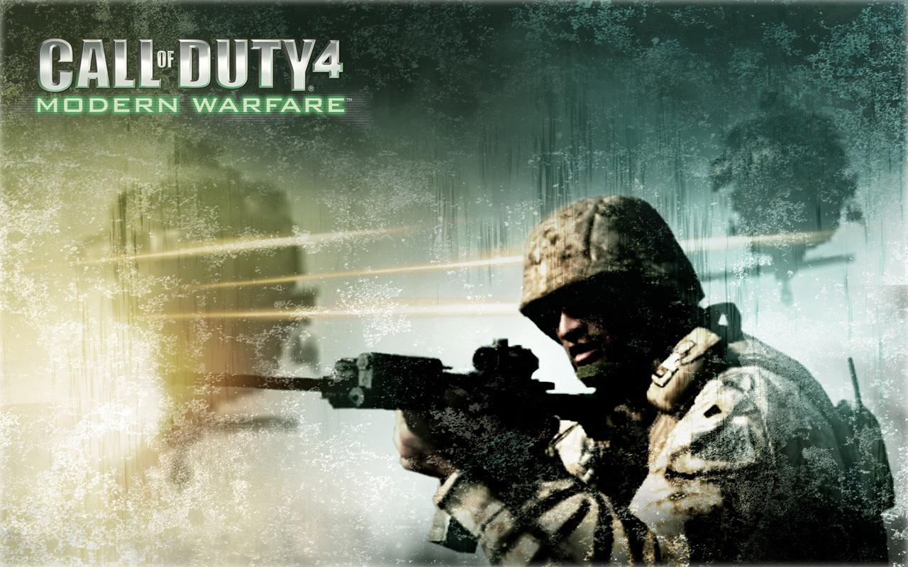 12997 Hintergrundbild herunterladen Spiele, Menschen, Call Of Duty (Cod), War - Bildschirmschoner und Bilder kostenlos