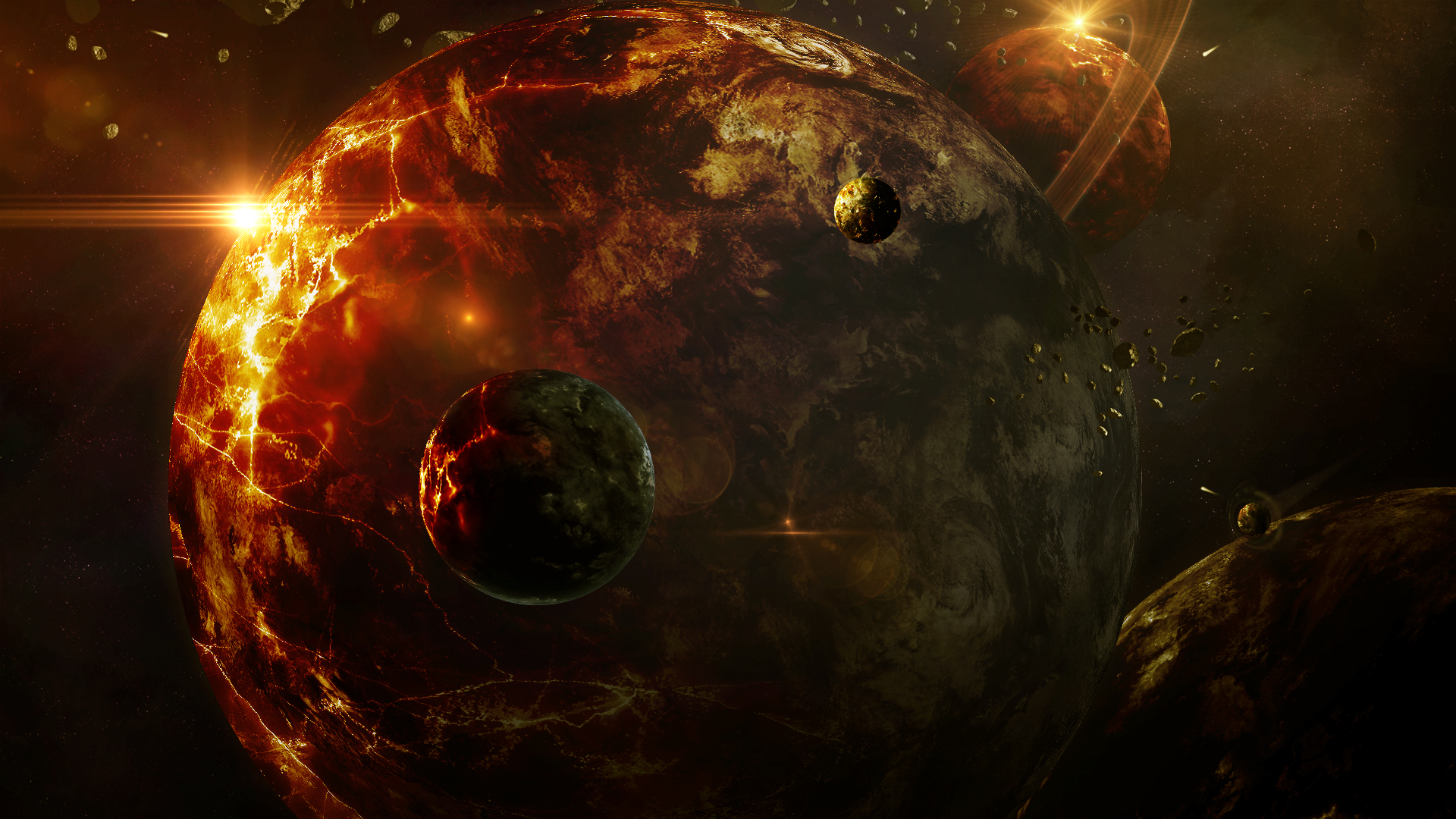 41941 download wallpaper Fantasy, Planets screensavers and pictures for free