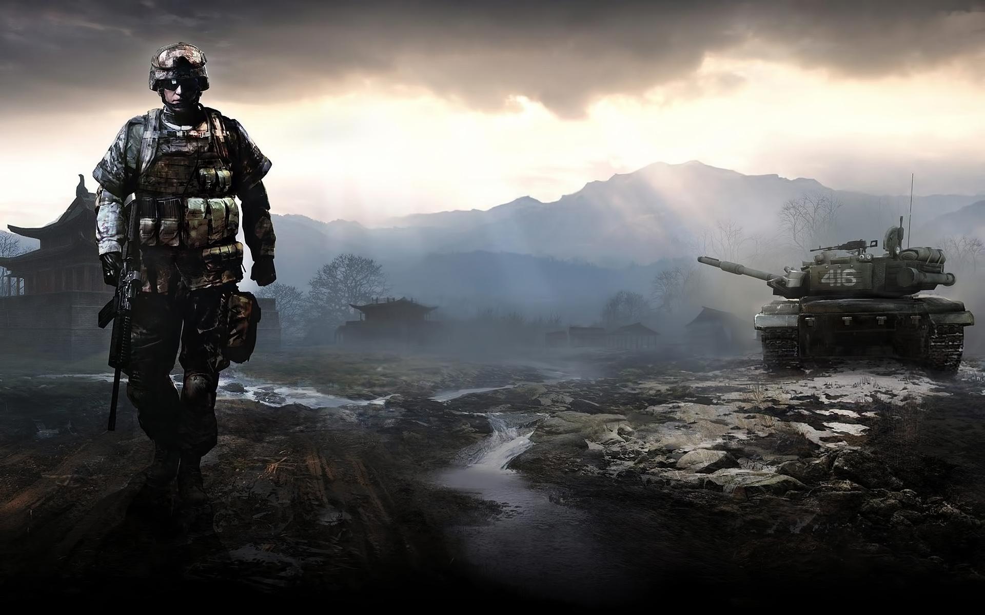 35748 Hintergrundbild herunterladen Spiele, Schlachtfeld - Bildschirmschoner und Bilder kostenlos