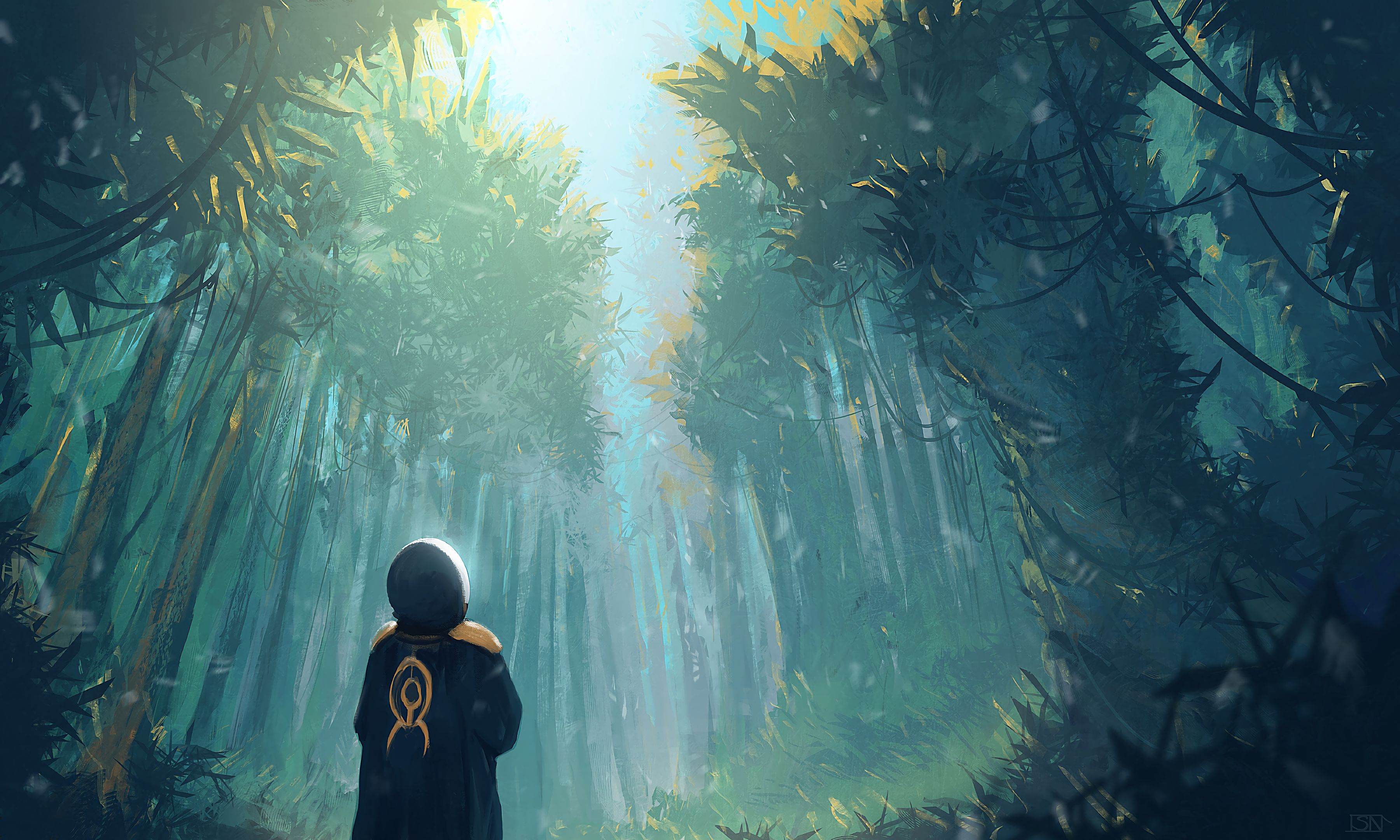 77372 Screensavers and Wallpapers Human for phone. Download Trees, Art, Forest, Human, Person, Loneliness pictures for free