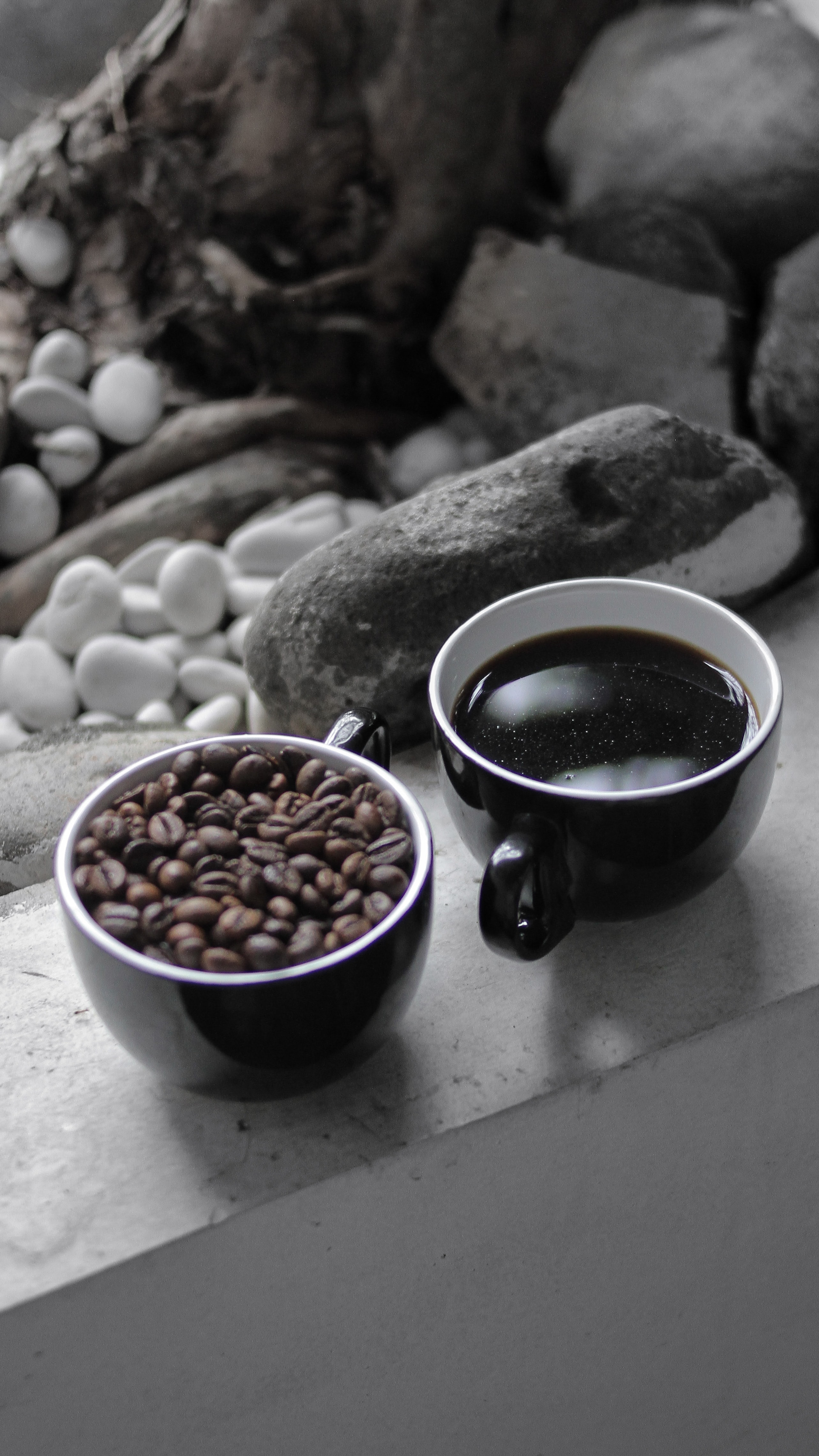 80102 download wallpaper Food, Cups, Coffee, Drink, Beverage, Coffee Beans screensavers and pictures for free