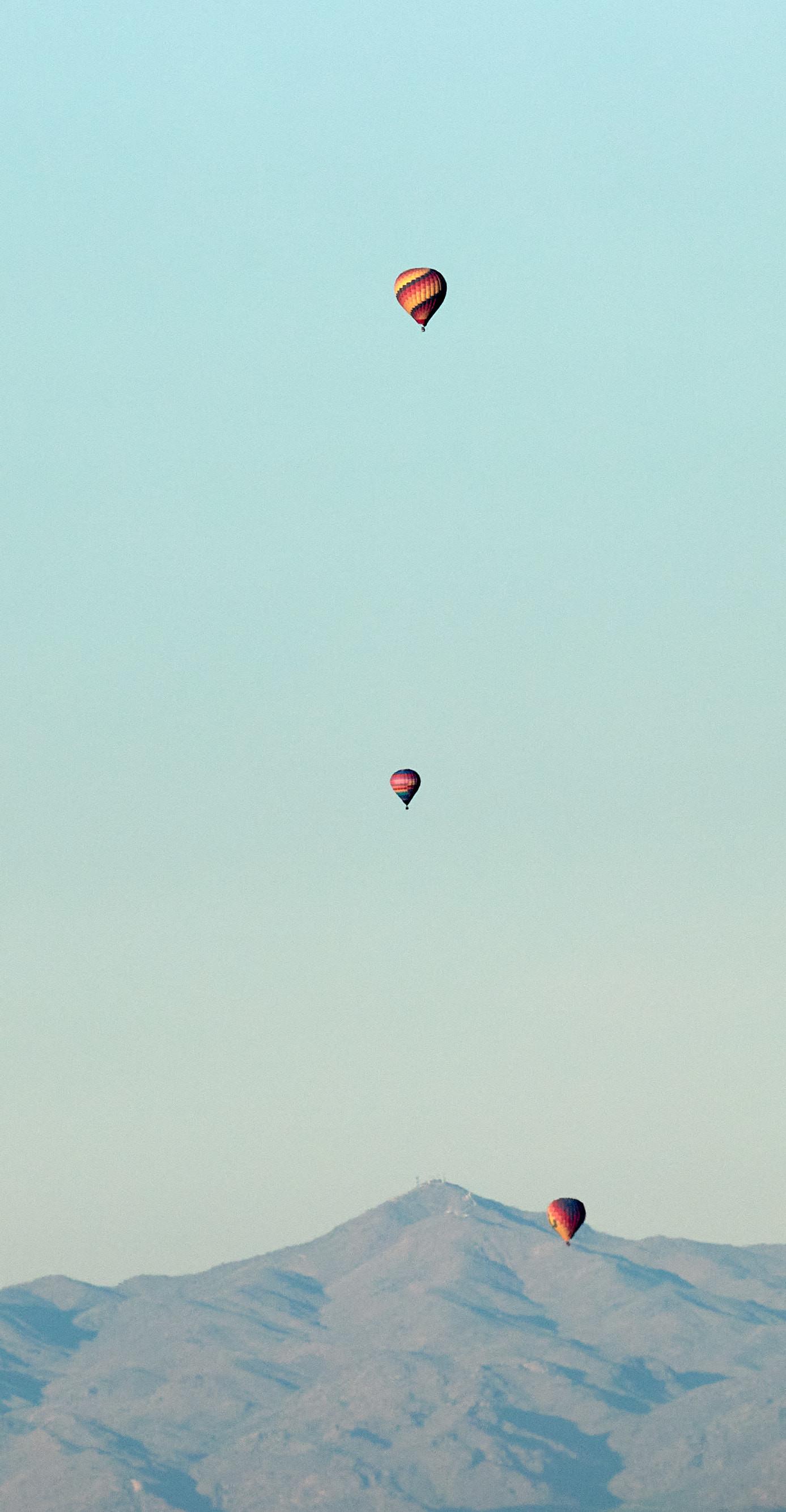 131476 скачать обои Природа, Скалы, Полет, Горы, Воздушные Шары - заставки и картинки бесплатно