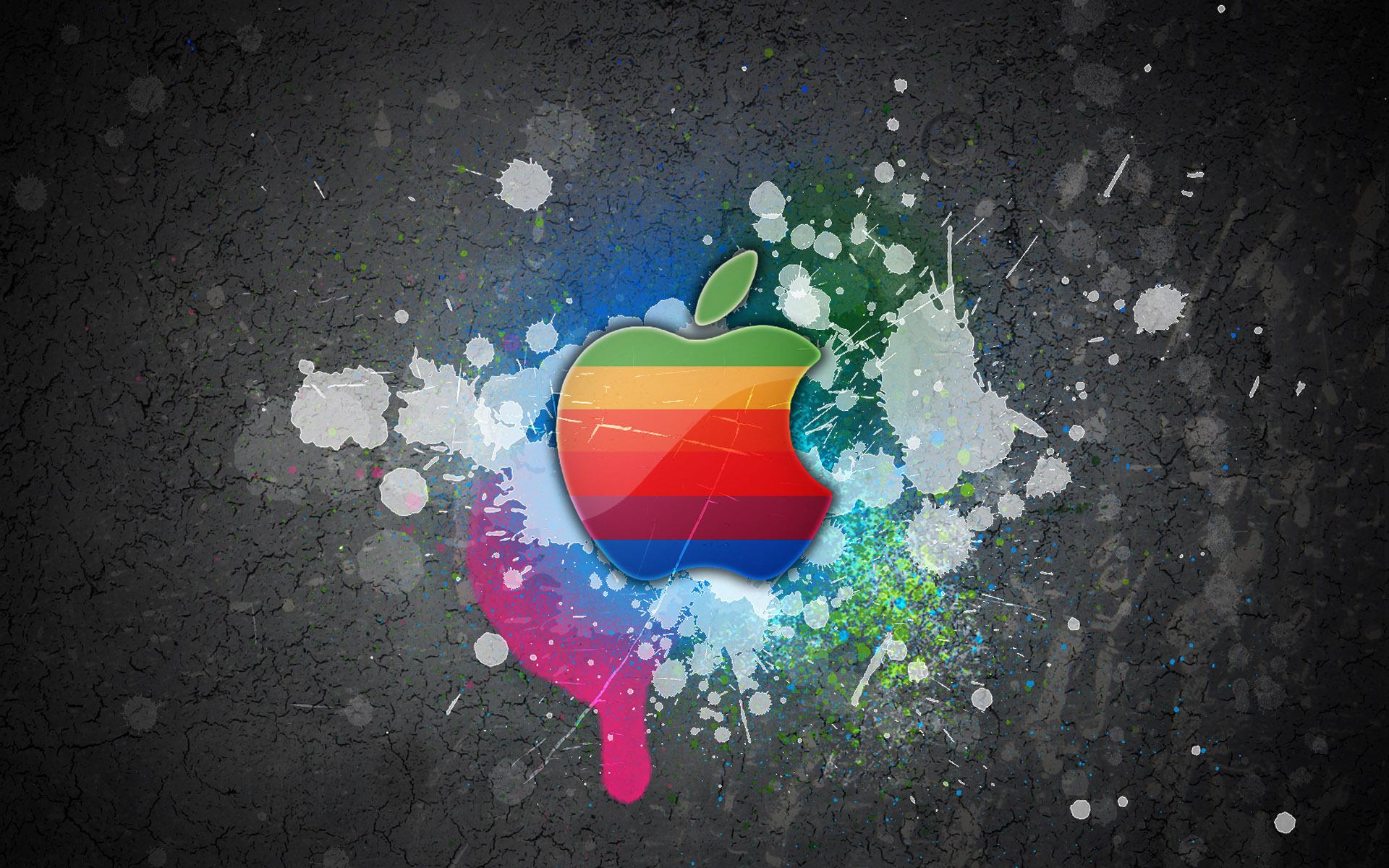 13570 Hintergrundbild herunterladen Apple-, Marken, Kunst, Logos - Bildschirmschoner und Bilder kostenlos