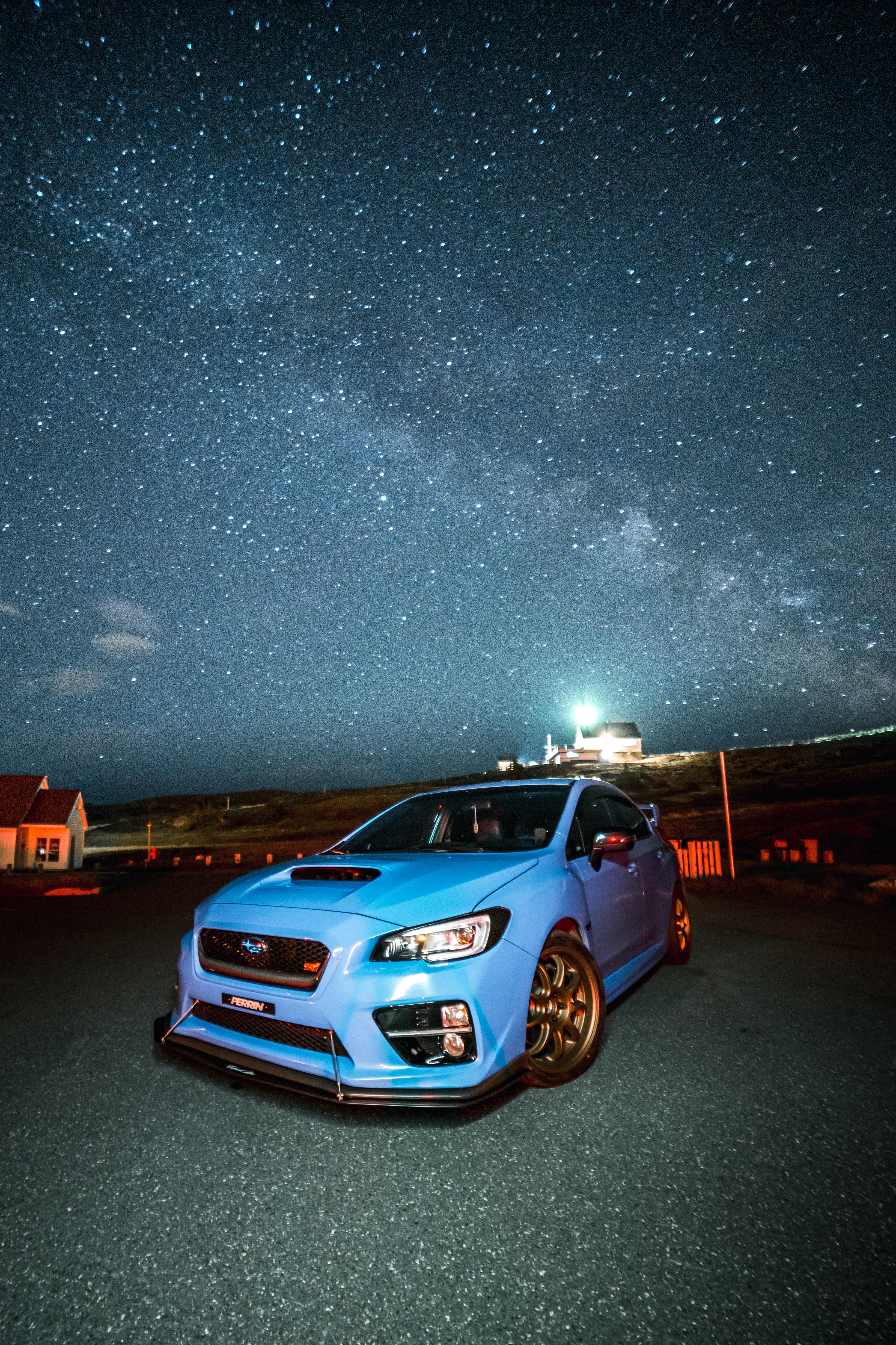 128940 Screensavers and Wallpapers Subaru for phone. Download Sports, Subaru, Cars, Car, Front View, Sports Car, Spoiler, Subaru Wrx pictures for free