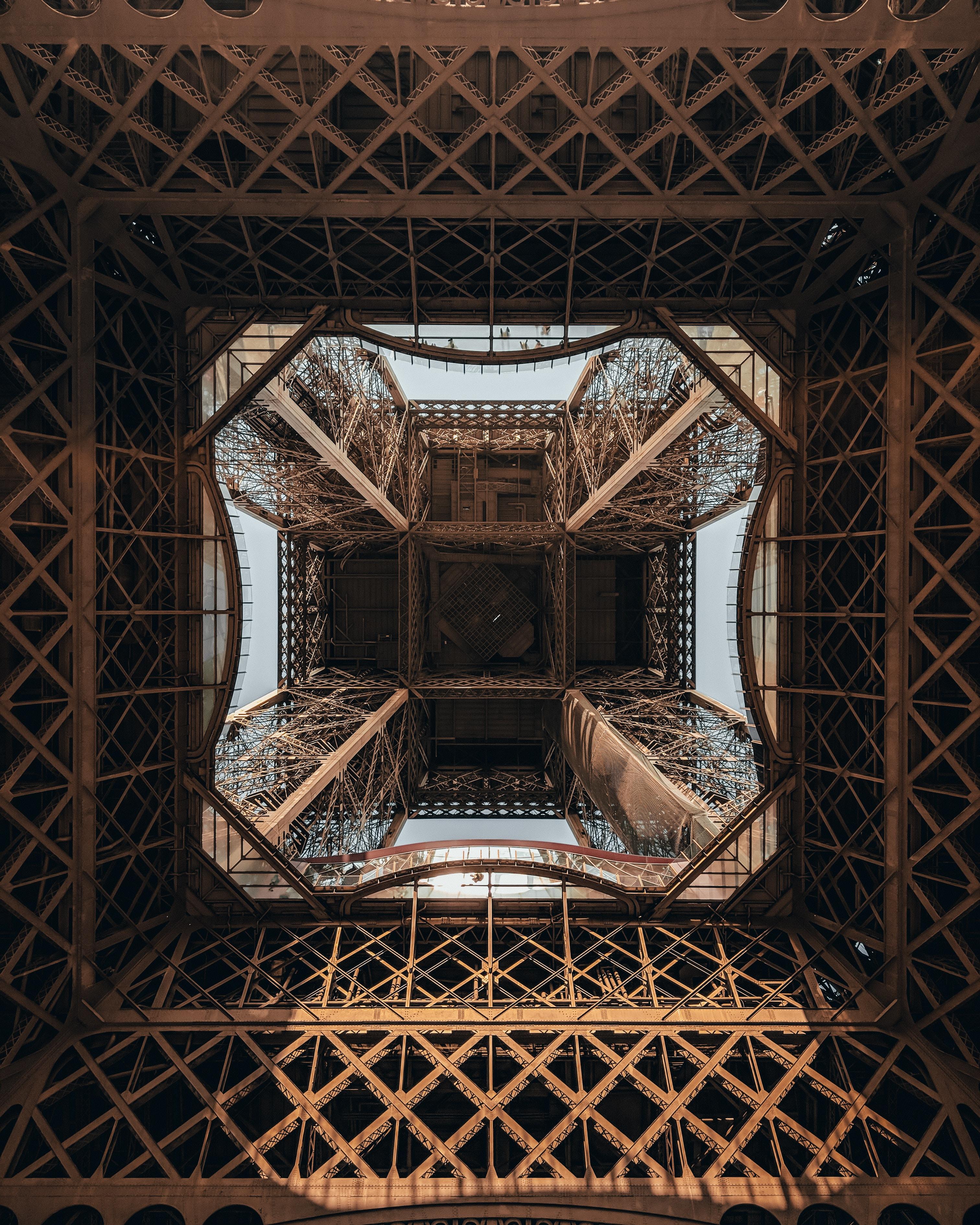 63742 télécharger le fond d'écran Divers, La Tour, Tour, Conception, Construction, Le Fer, Fer, Symétrie, Tour Eiffel - économiseurs d'écran et images gratuitement