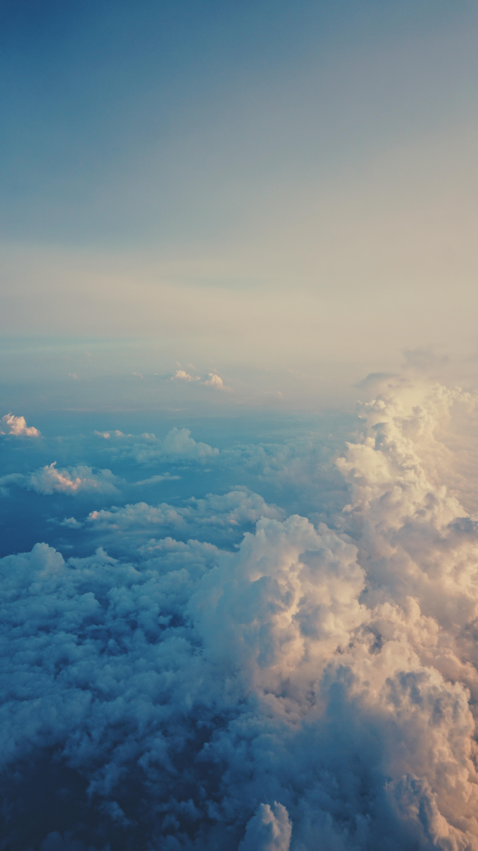 59094 скачать обои Облака, Небо, Природа, Полет, Пористый, Воздушный - заставки и картинки бесплатно
