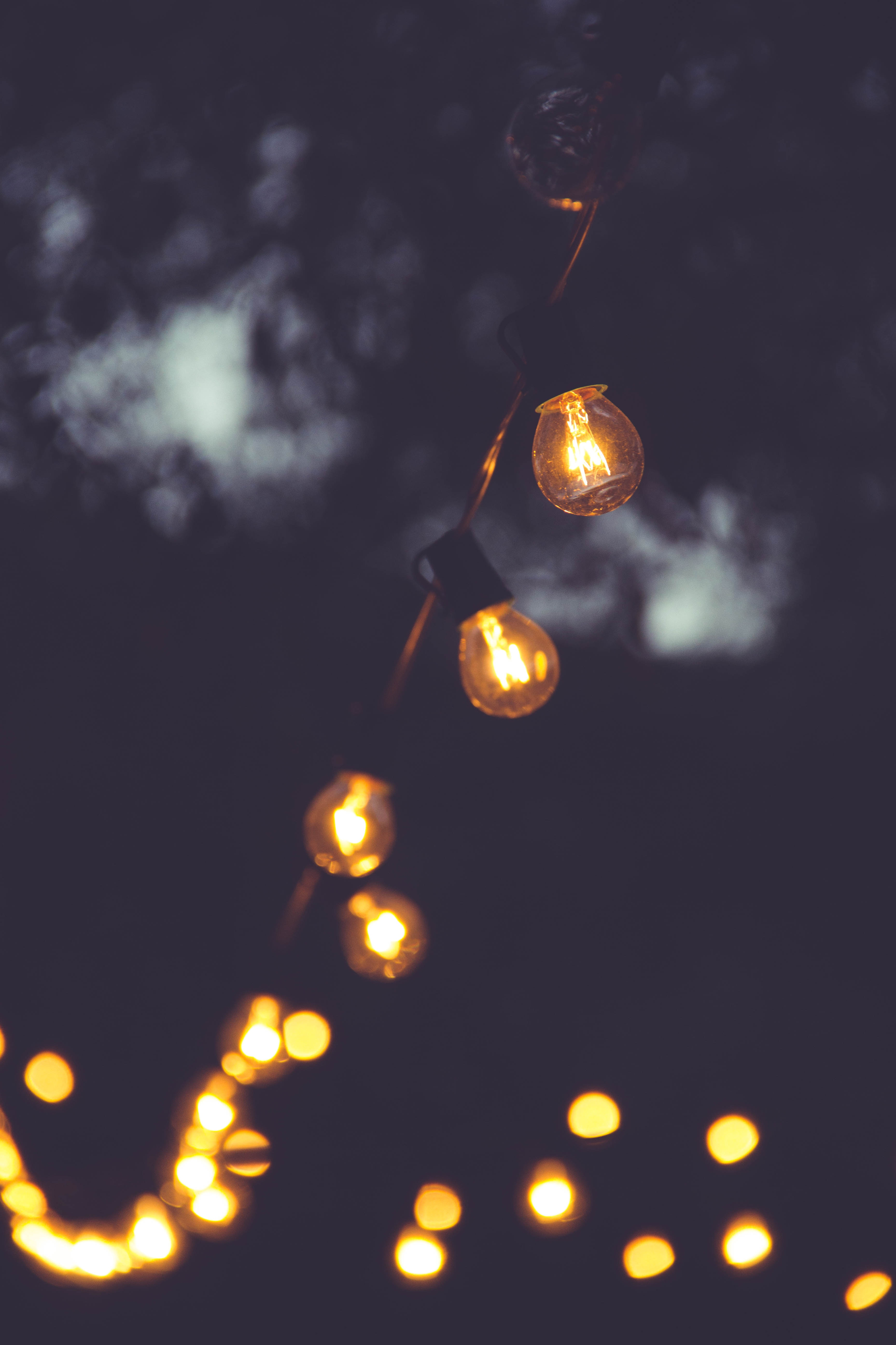 98694 download wallpaper Dark, Lamps, Lamp, Electricity, Lighting, Illumination screensavers and pictures for free