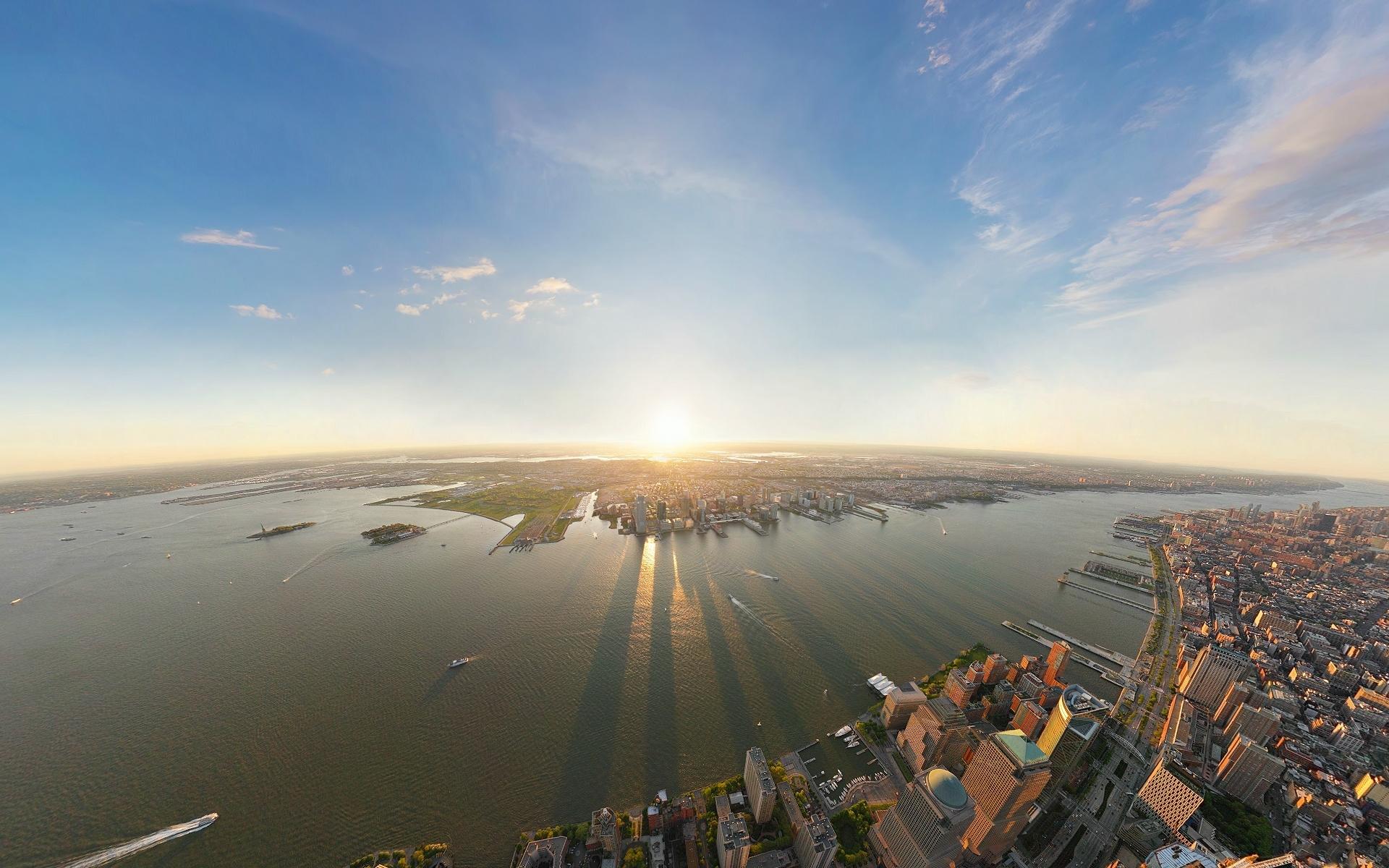 24946 скачать обои Пейзаж, Города, Море, Солнце - заставки и картинки бесплатно