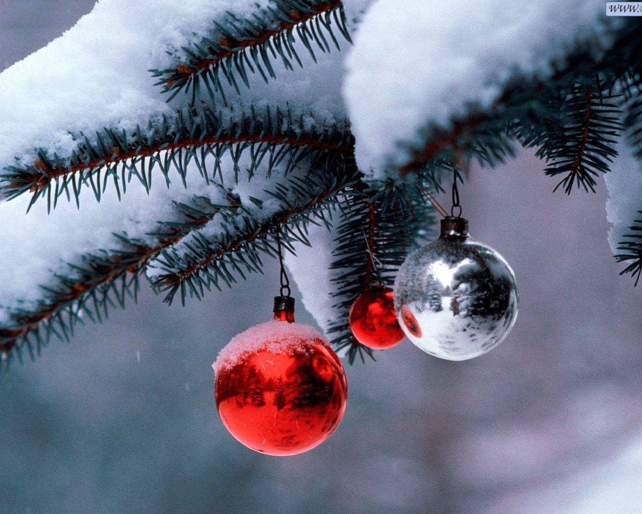 16861 скачать обои Праздники, Новый Год (New Year), Снег, Рождество (Christmas, Xmas) - заставки и картинки бесплатно