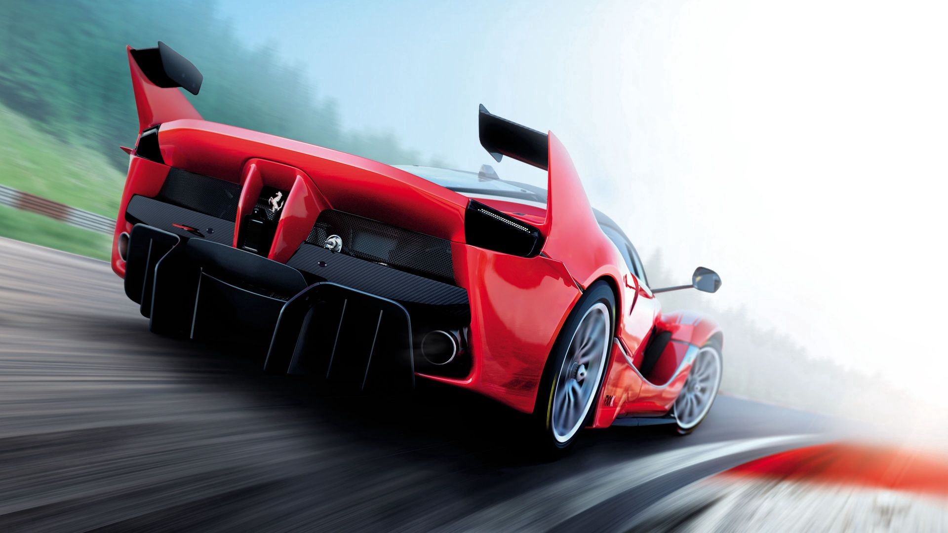138345 download wallpaper Cars, Assetto Corsa, Ferrari, Races, Simulator screensavers and pictures for free