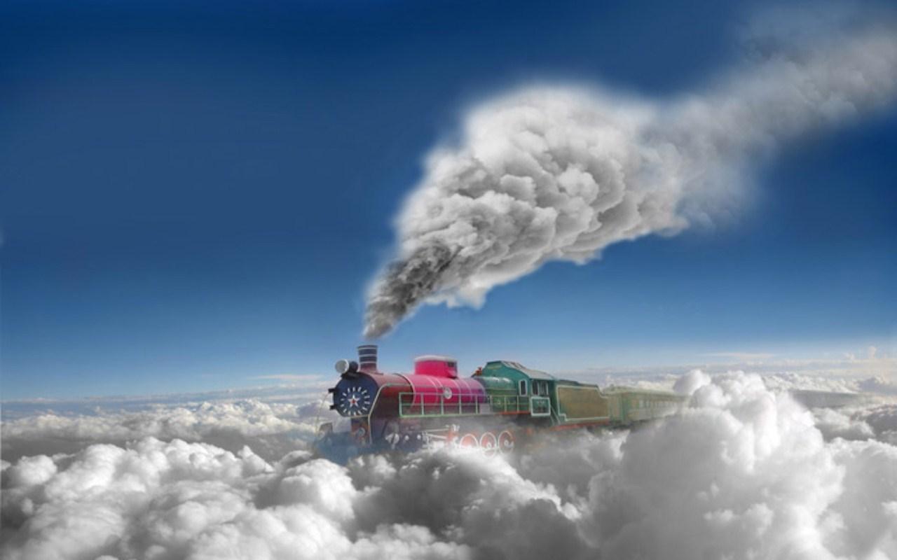 31563壁紙のダウンロード輸送, ファンタジー, 列車-スクリーンセーバーと写真を無料で