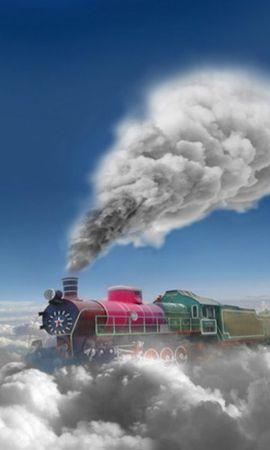 31563 télécharger le fond d'écran Transports, Fantaisie, Trains - économiseurs d'écran et images gratuitement