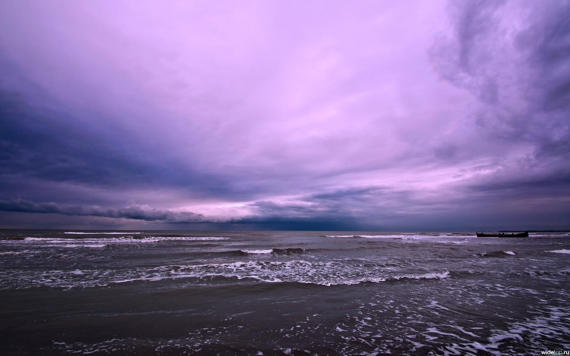 17072 скачать обои Пейзаж, Закат, Море, Облака, Волны - заставки и картинки бесплатно