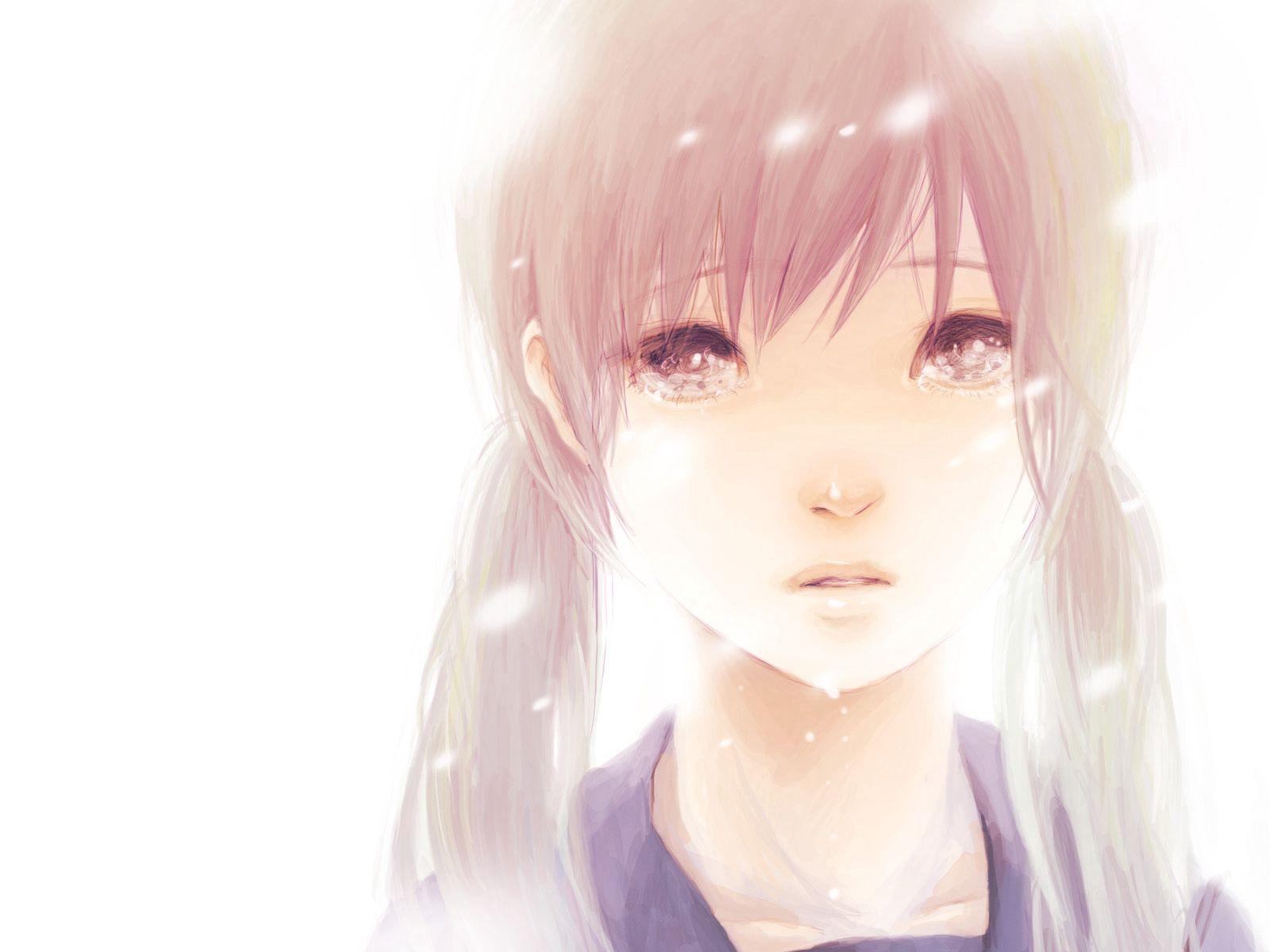 151989 скачать обои Аниме, Hatsune Miku, Девушка, Волосы, Два Хвостика, Карие Глаза, Слёзы - заставки и картинки бесплатно