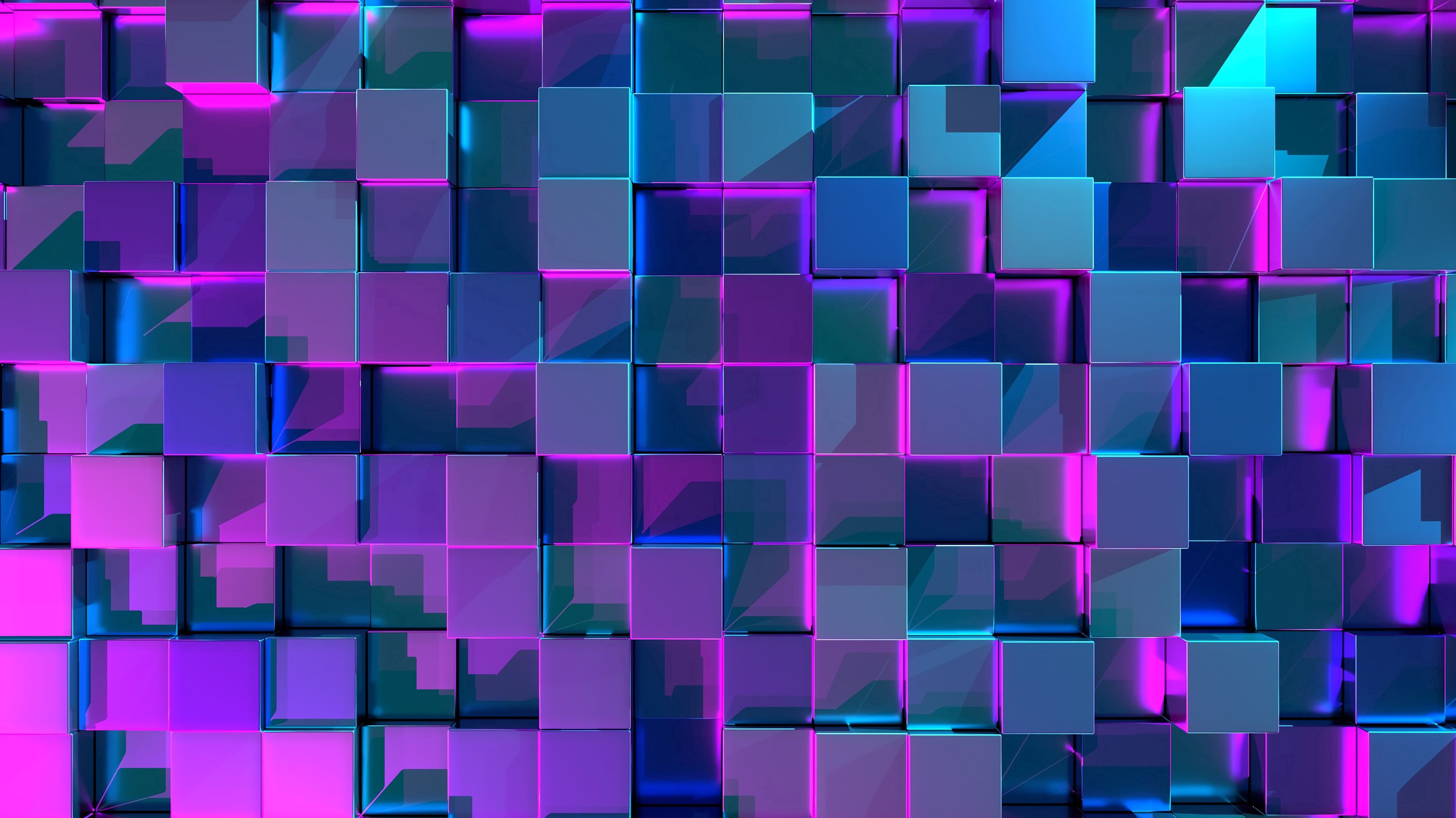 103301 Screensavers and Wallpapers 3D for phone. Download Cuba, Structure, 3D, Surface, Glare, Gleam, Glow pictures for free