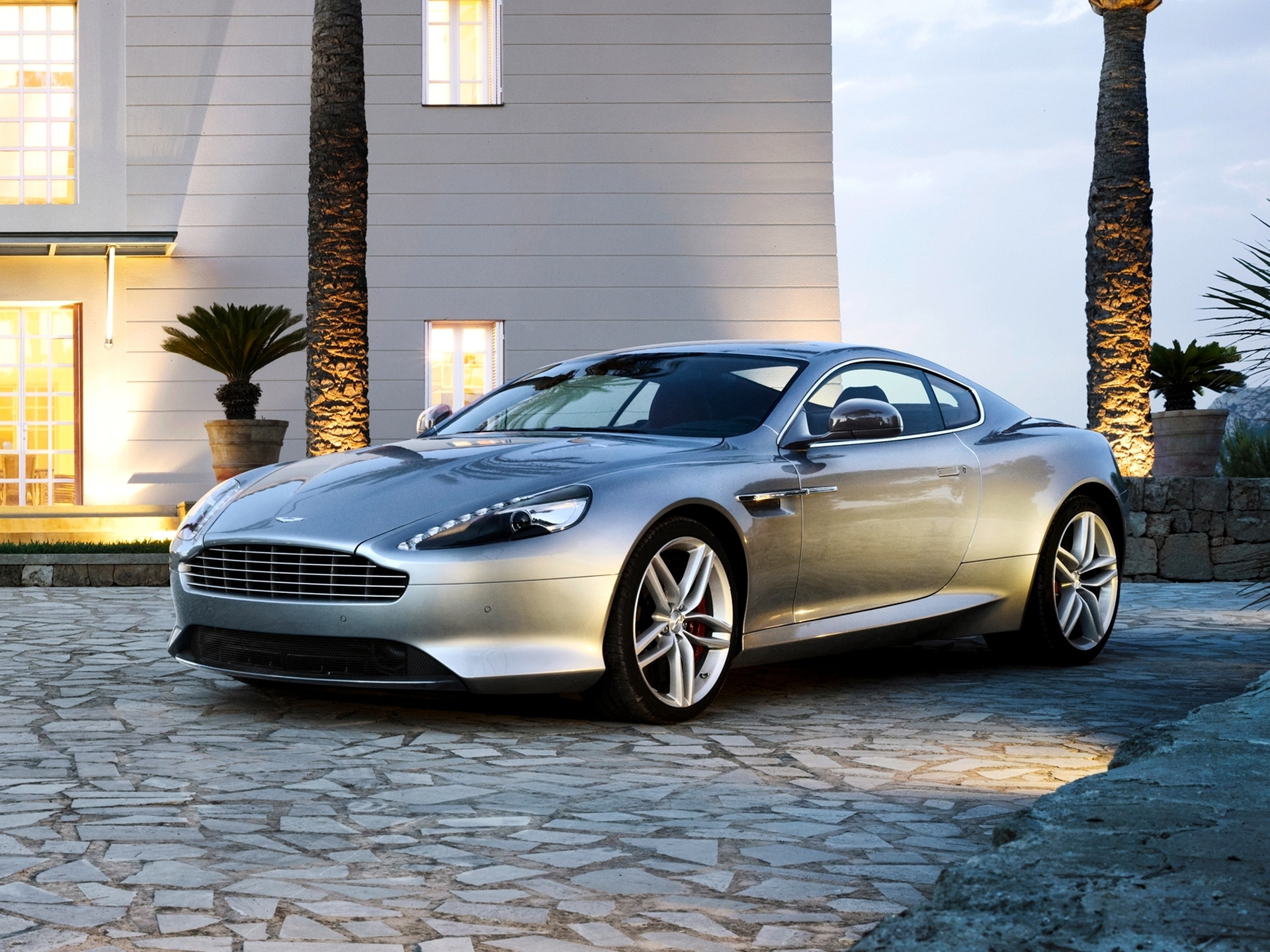 102557 download wallpaper Aston Martin, Cars, Silver, Silvery, Aston Martin Db9 screensavers and pictures for free