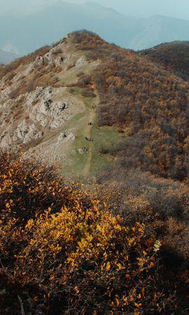 155794 скачать обои Природа, Холм, Гора, Вид Сверху, Вершина, Пейзаж - заставки и картинки бесплатно