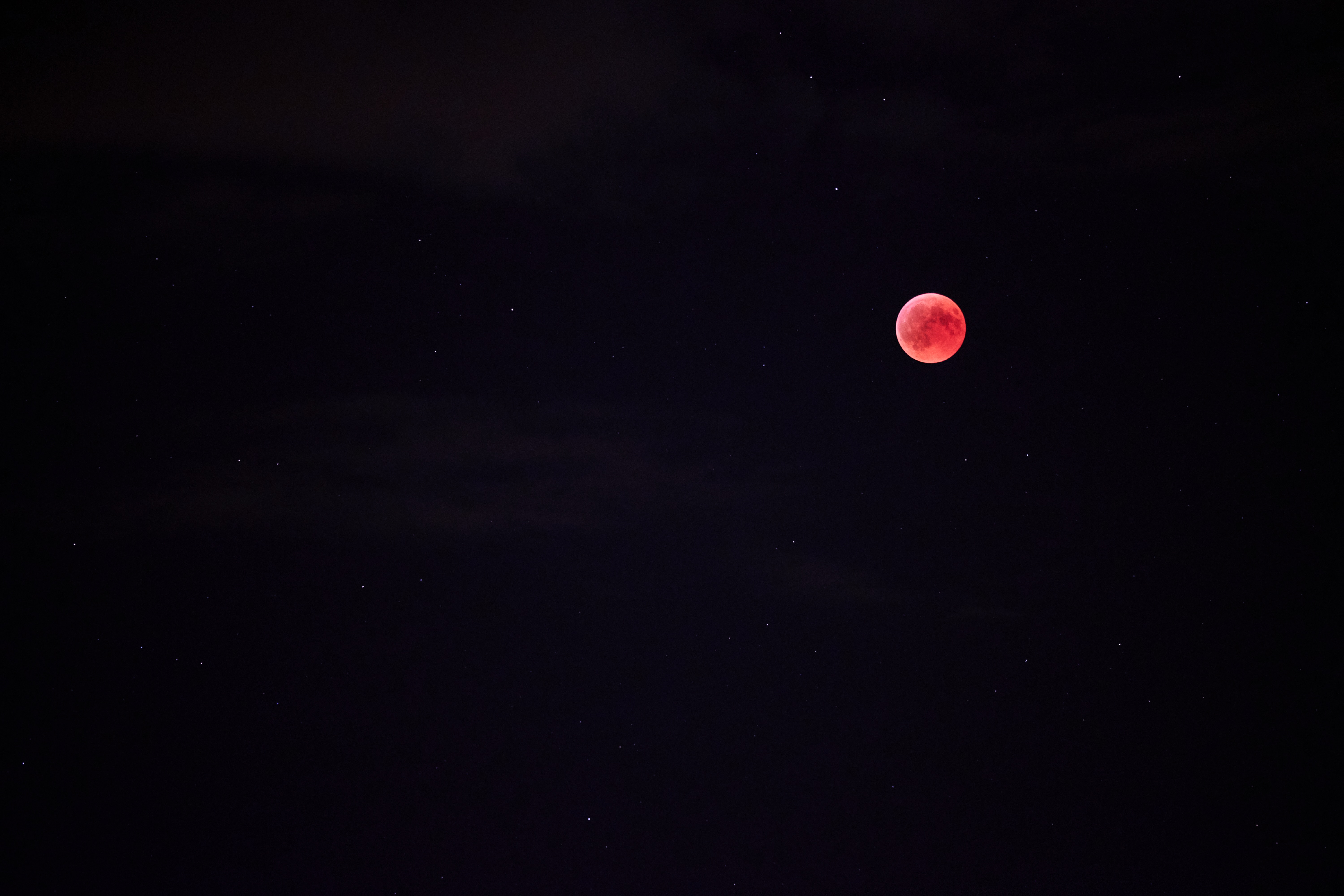92837 download wallpaper Moon, Sky, Night, Starry Sky, Full Moon, Red Moon screensavers and pictures for free