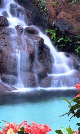 42484 завантажити шпалери Пейзаж, Природа, Водоспади - заставки і картинки безкоштовно