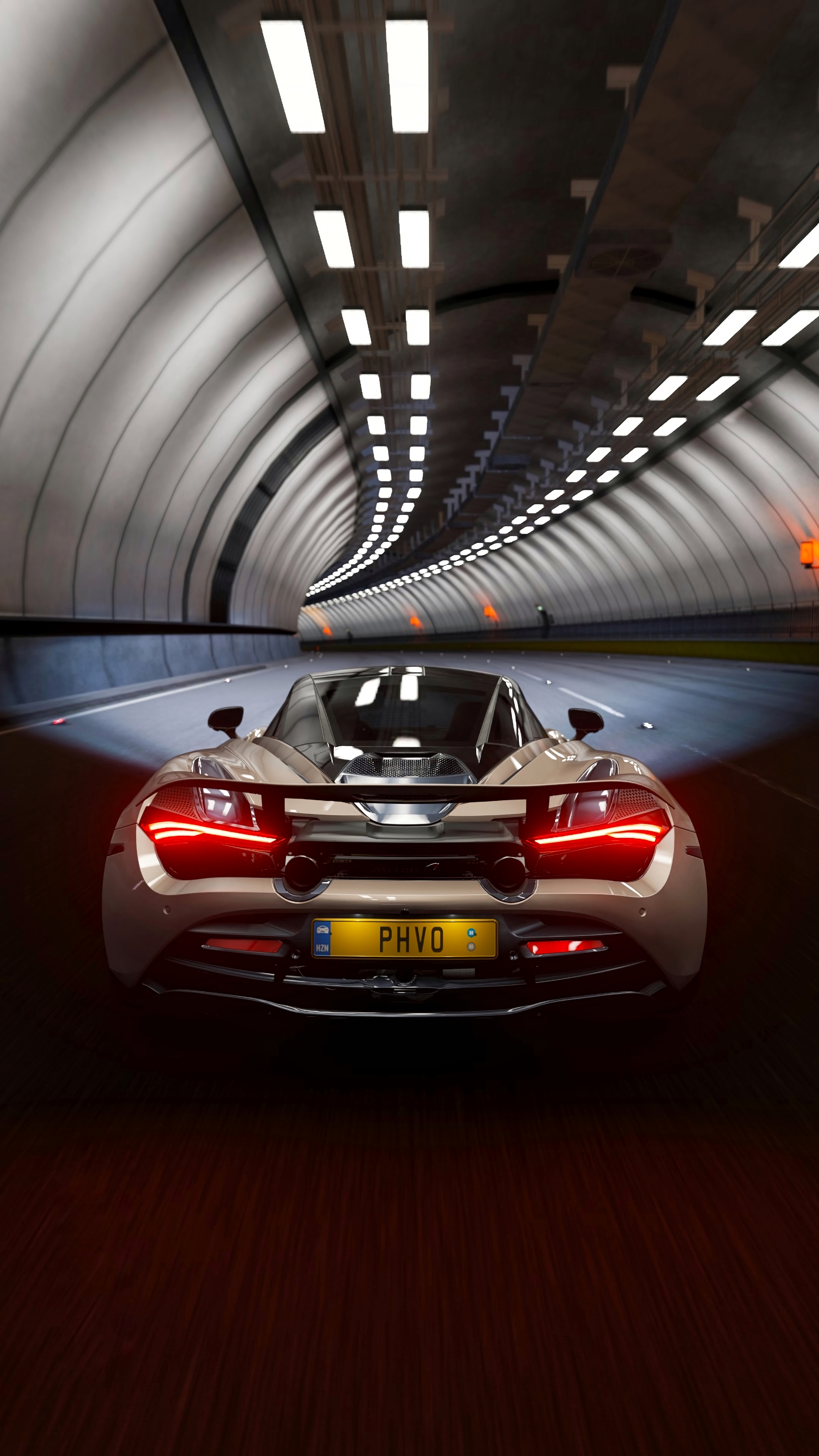 148227 download wallpaper Sports, Mclaren, Cars, Sports Car, Tunnel, Supercar, Mclaren 720S screensavers and pictures for free