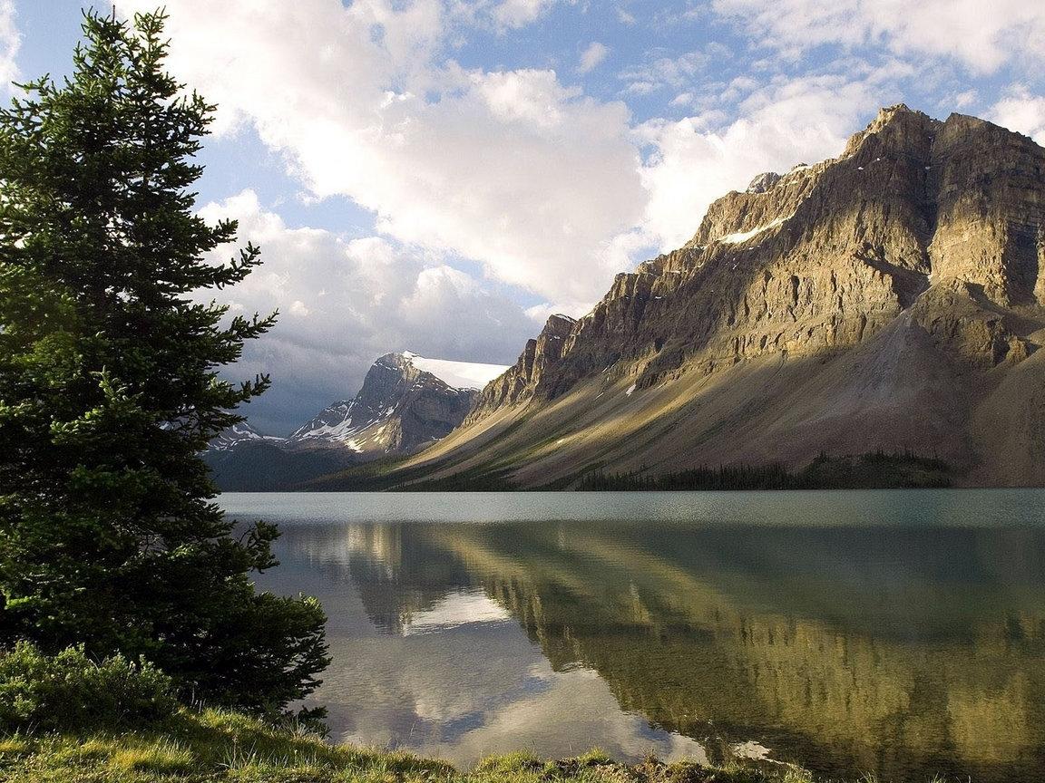 569 скачать обои Пейзаж, Вода, Небо, Горы - заставки и картинки бесплатно