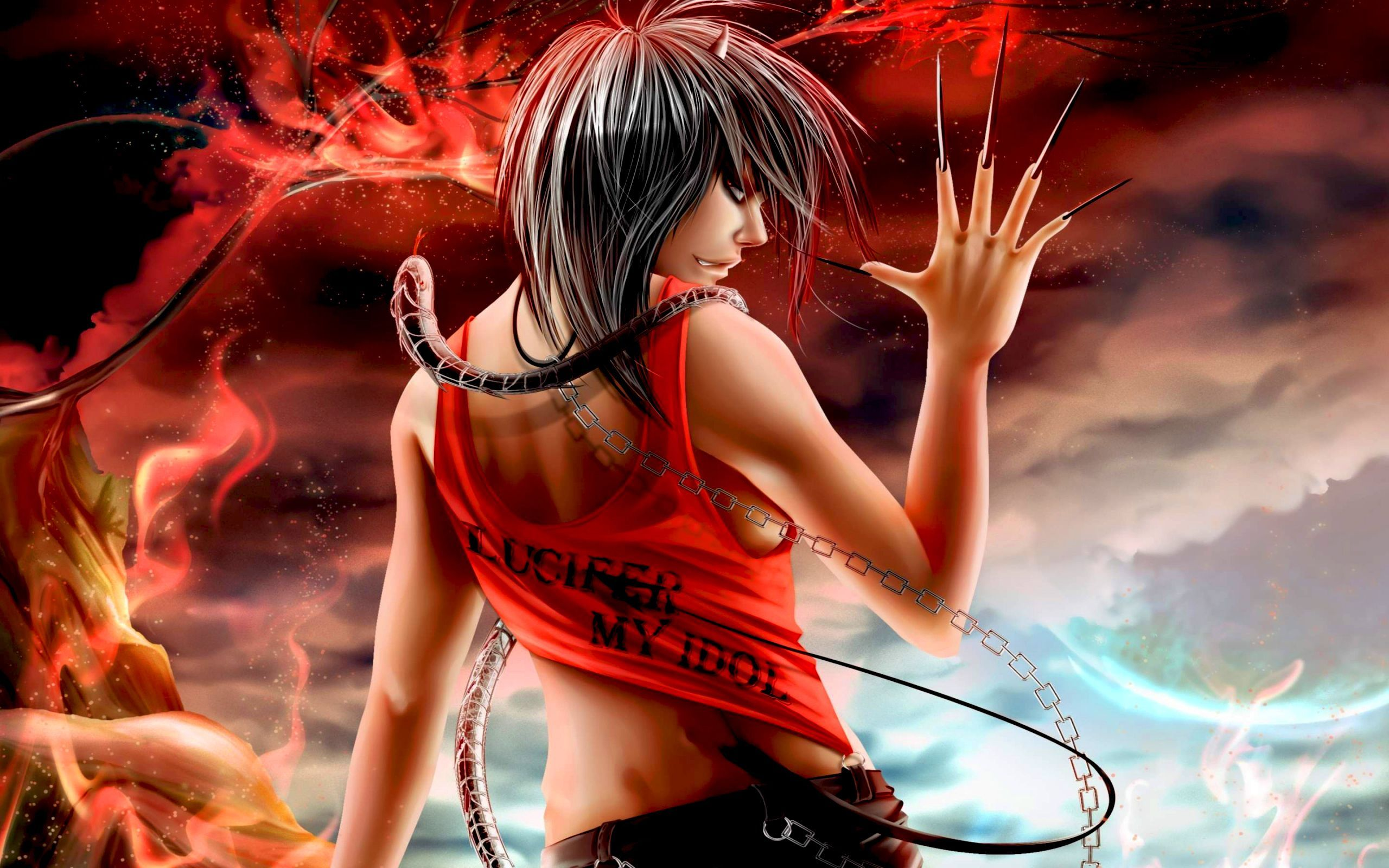 26154 Screensavers and Wallpapers Demons for phone. Download Fantasy, Demons pictures for free