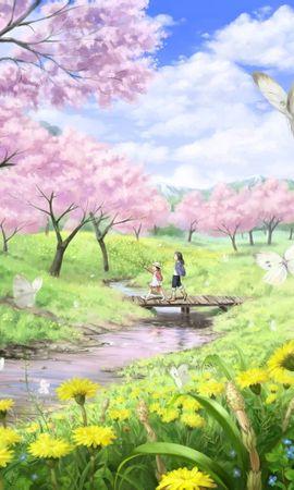 40142 baixar papel de parede Anime, Crianças - protetores de tela e imagens gratuitamente
