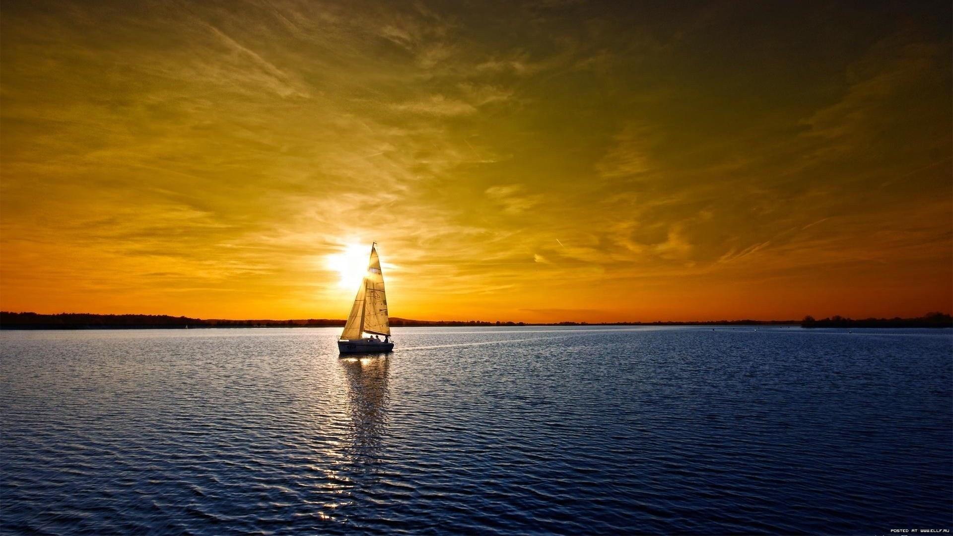 25077 Заставки и Обои Яхты на телефон. Скачать Транспорт, Пейзаж, Река, Закат, Яхты картинки бесплатно