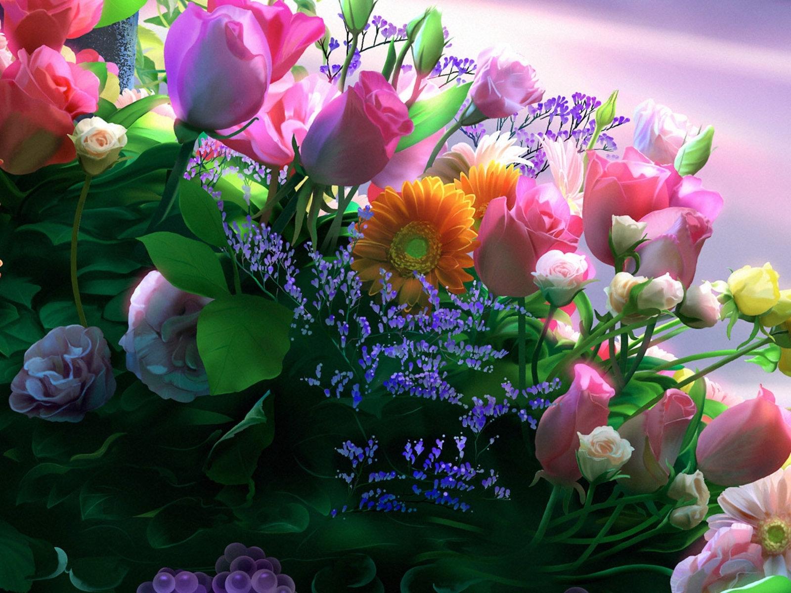 4776 скачать обои Праздники, Растения, Цветы, Открытки, 8 Марта - заставки и картинки бесплатно