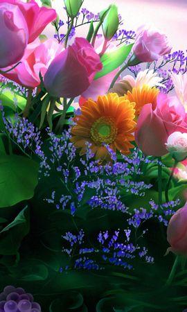 4776 descargar fondo de pantalla Vacaciones, Plantas, Flores, Postales, 8 De Marzo, Día De La Mujer: protectores de pantalla e imágenes gratis