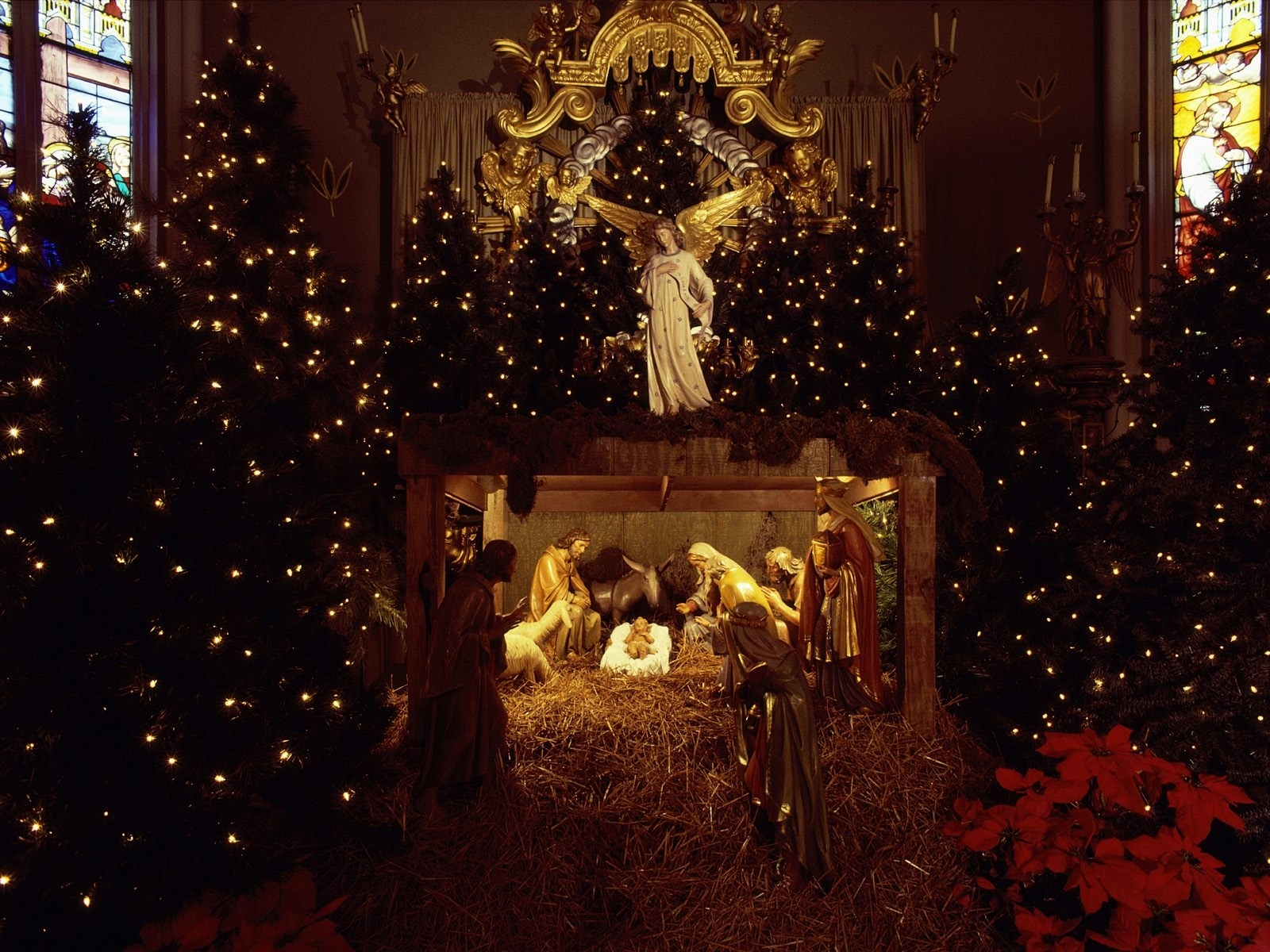 4394 download wallpaper Holidays, Christmas, Xmas screensavers and pictures for free