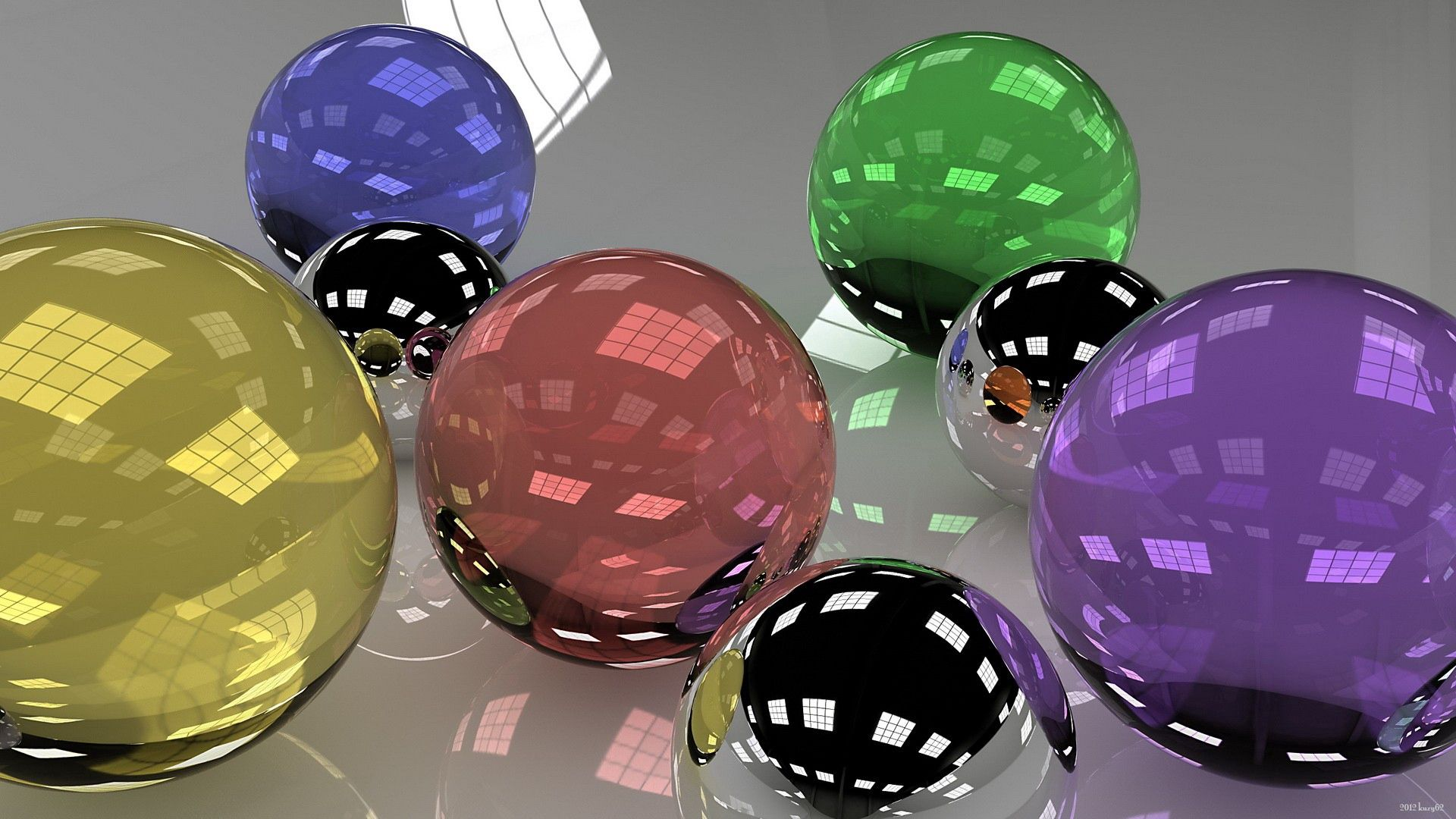 115860 Screensavers and Wallpapers Balls for phone. Download Multicolored, Motley, 3D, Glass, Balls, Dimensions (Edit), Dimension, Lots Of, Multitude pictures for free