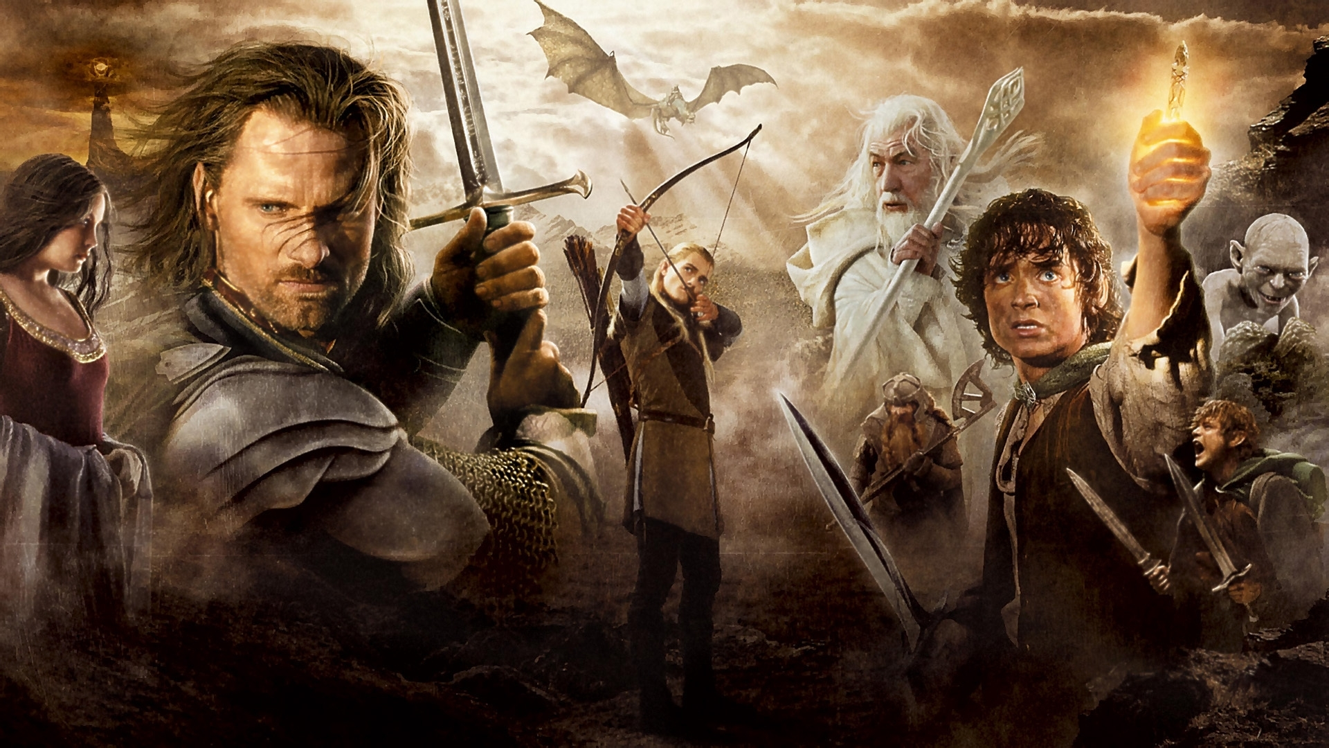 26065 download wallpaper Cinema, People, Actors, Men, Lord Of The Rings screensavers and pictures for free
