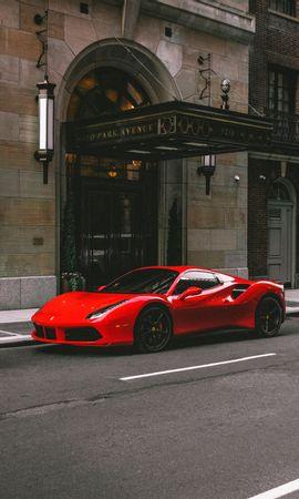 53117 télécharger le fond d'écran Voitures, Ferrari 458, Ferrari, Voiture, Voiture De Sport, Sportif, Vue De Côté - économiseurs d'écran et images gratuitement