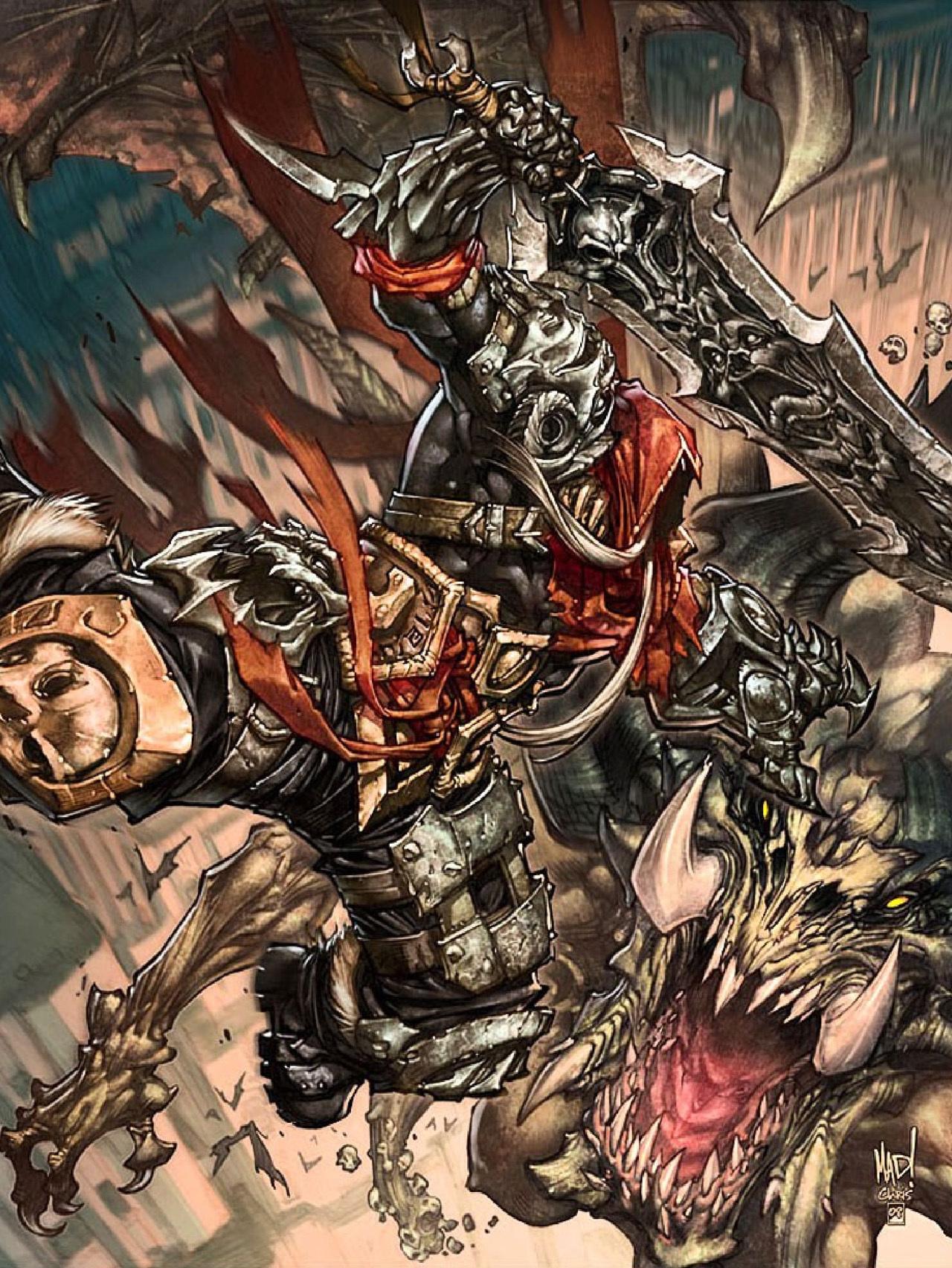 19912 télécharger le fond d'écran Jeux, Darksiders : Wrath Of War - économiseurs d'écran et images gratuitement