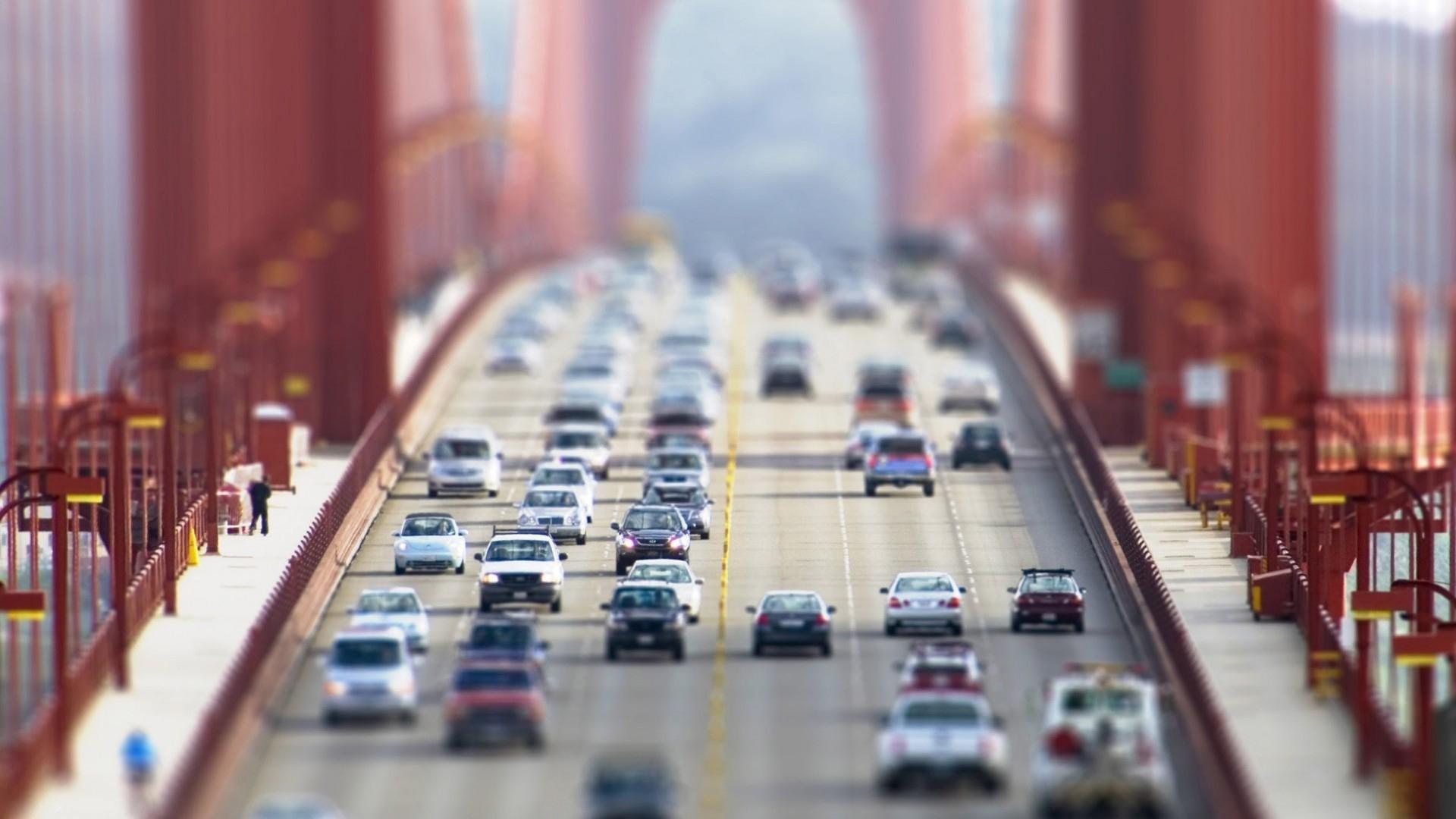 Скачать картинку Пейзаж, Мосты, Дороги в телефон бесплатно.
