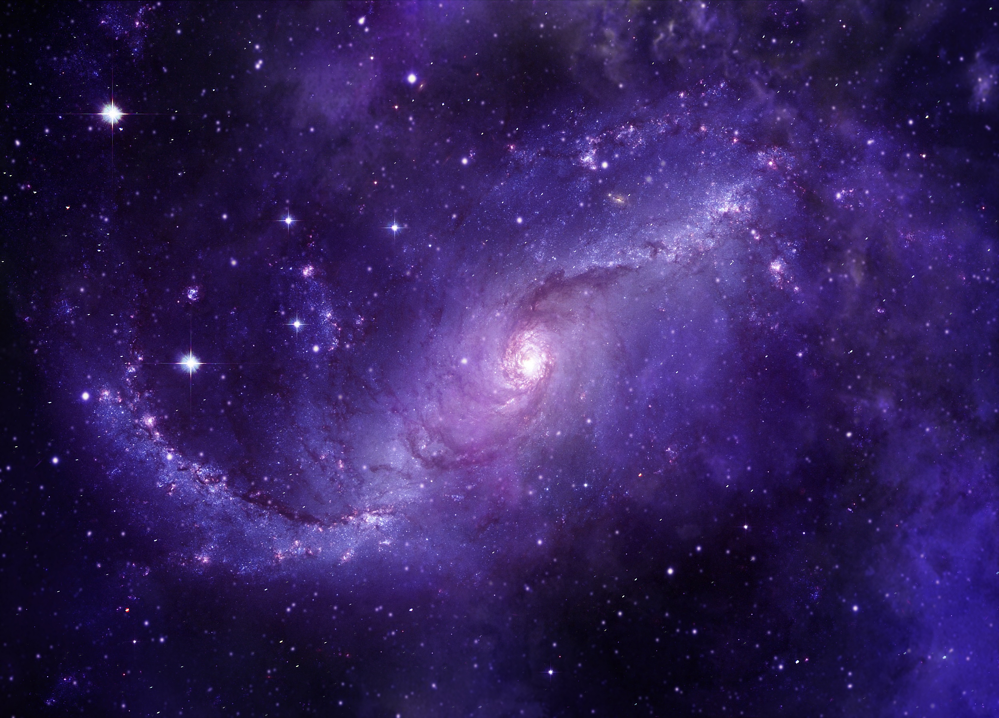 139694 Screensavers and Wallpapers Purple for phone. Download Universe, Violet, Starry Sky, Galaxy, Purple pictures for free