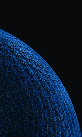 126076壁紙のダウンロードその他, 雑, 玉, 球, 表面, 枝編み細工品, 編 組, 青い-スクリーンセーバーと写真を無料で
