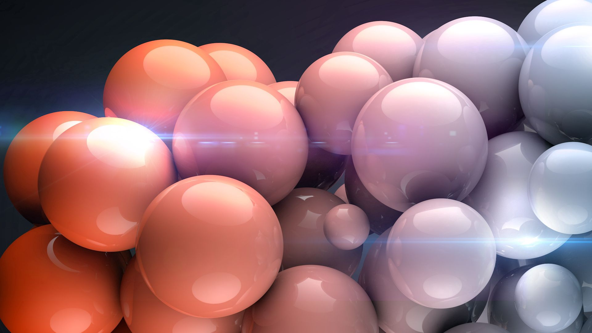 143151 Screensavers and Wallpapers 3D for phone. Download 3D, Balls, Form, Light Coloured, Light pictures for free