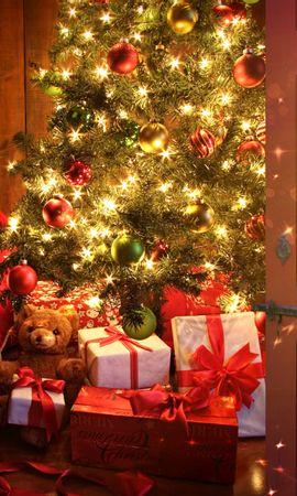 42966 descargar fondo de pantalla Vacaciones, Año Nuevo: protectores de pantalla e imágenes gratis
